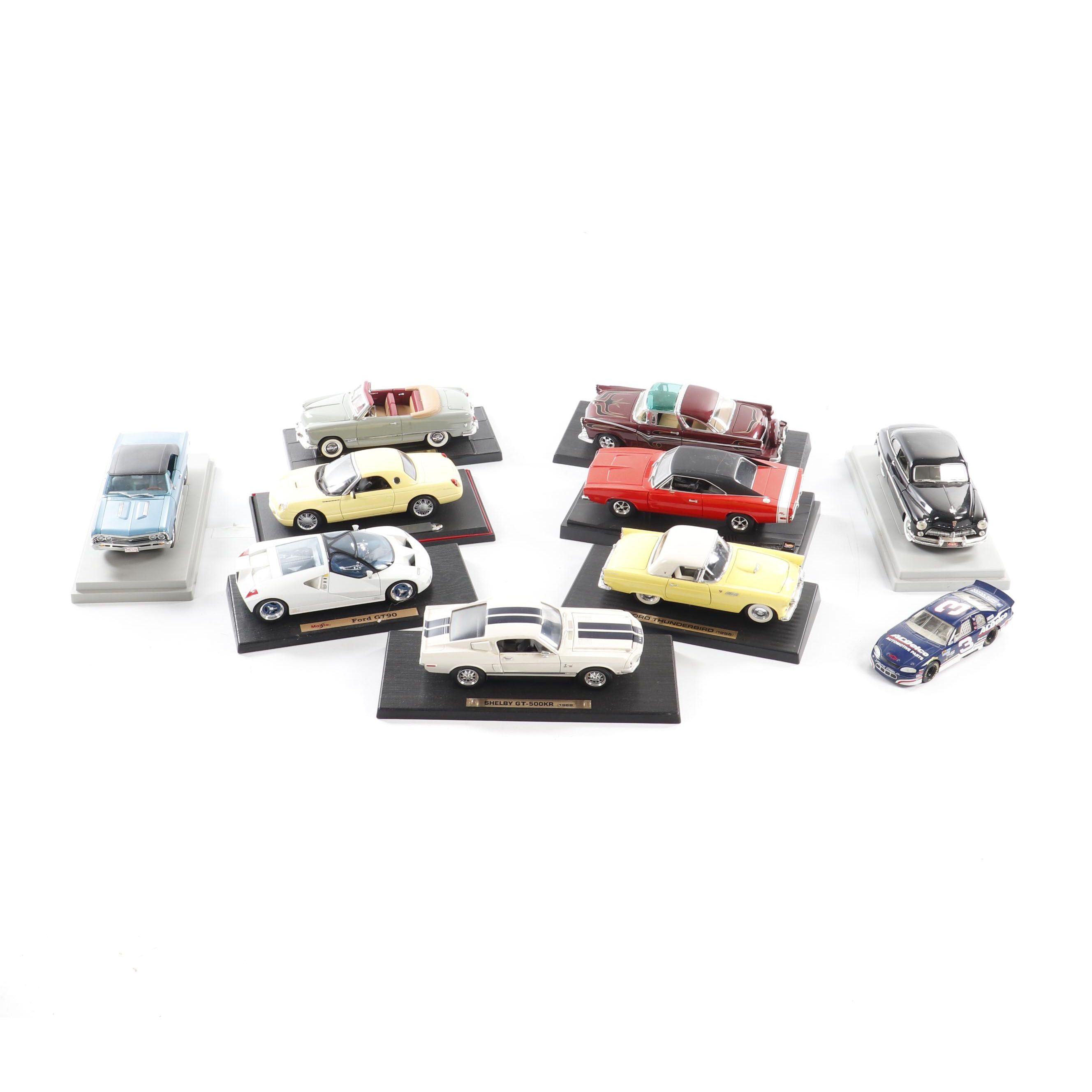 Maisto, Mira, Hot Wheels and Other Die-Cast Vehicles