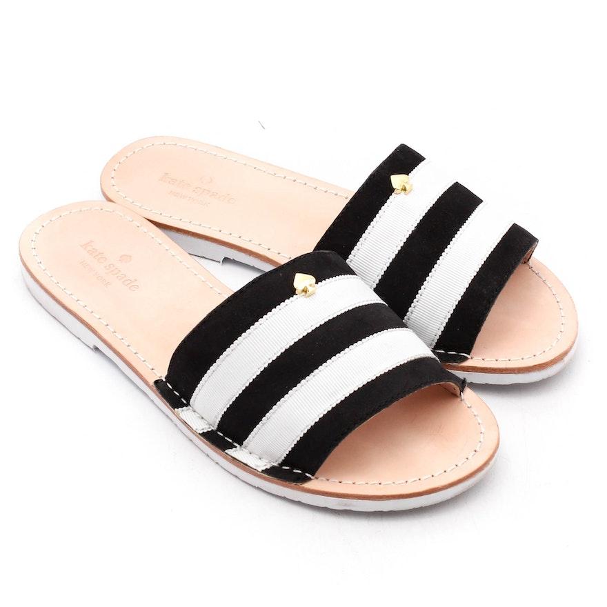 c5565ab1d4d9 Kate Spade New York Imperiale Grograin Slide Sandals   EBTH