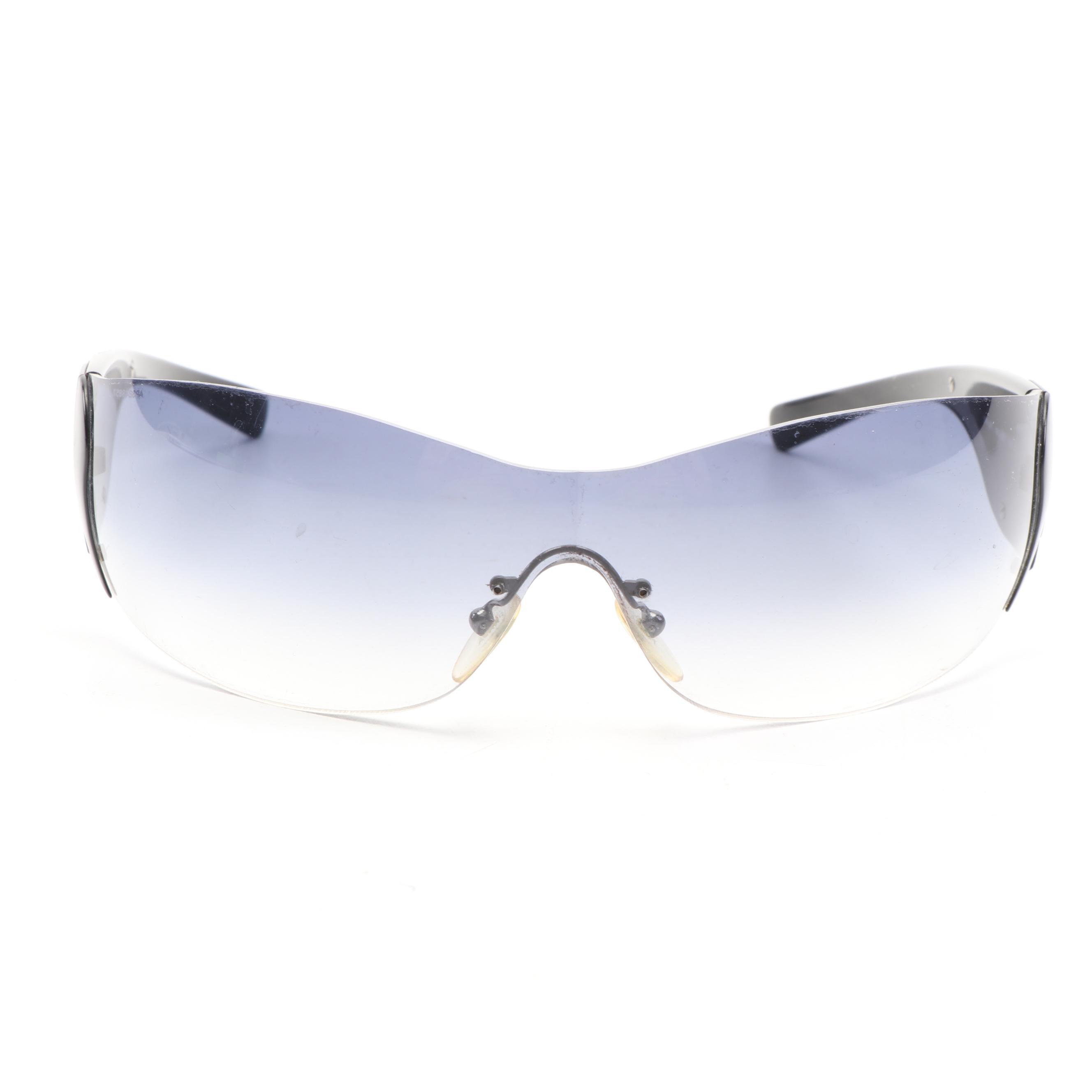 Prada SPR 58F Prescription Shield Sunglasses