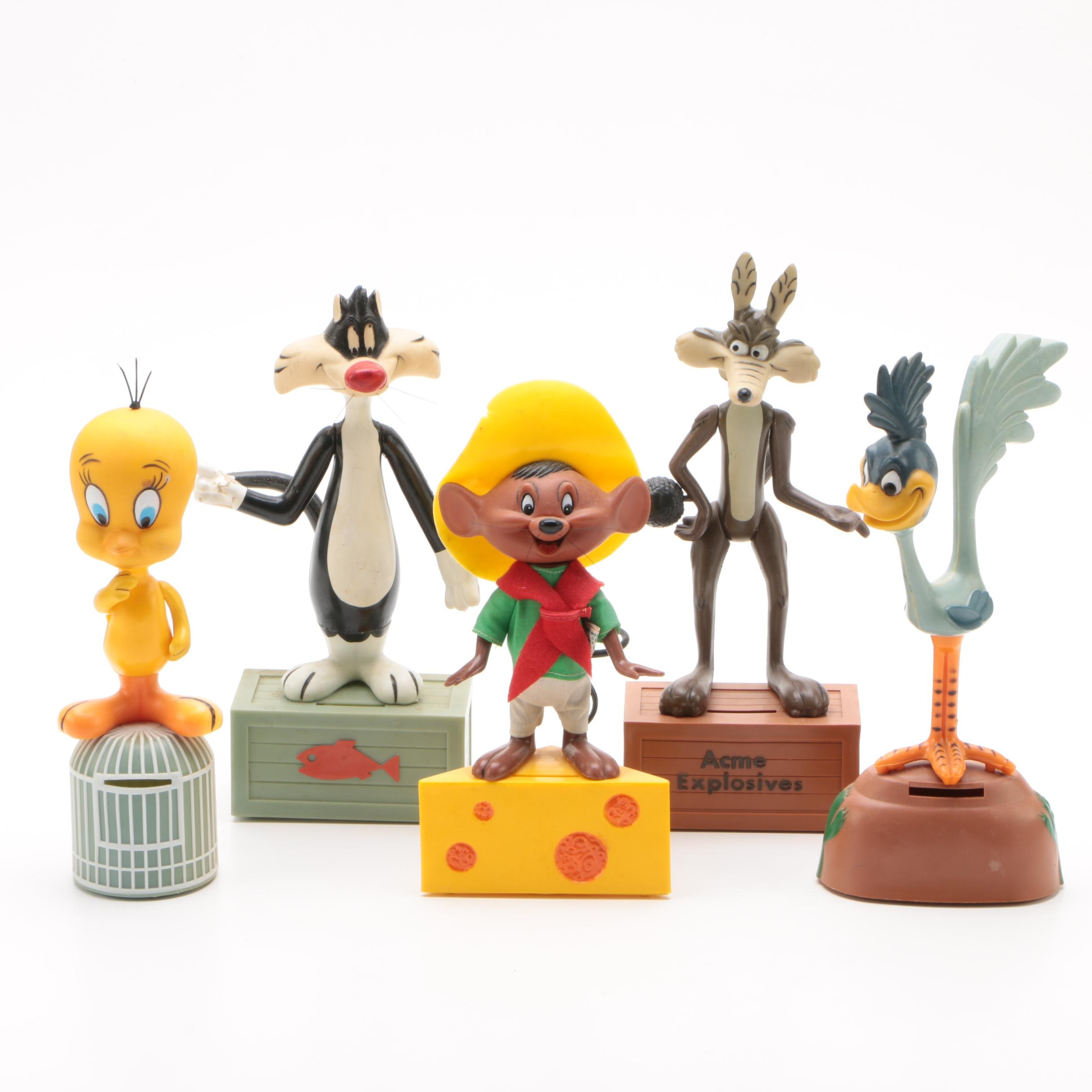 Looney Toons Coin Banks by R. Dakin & Co., 1970s