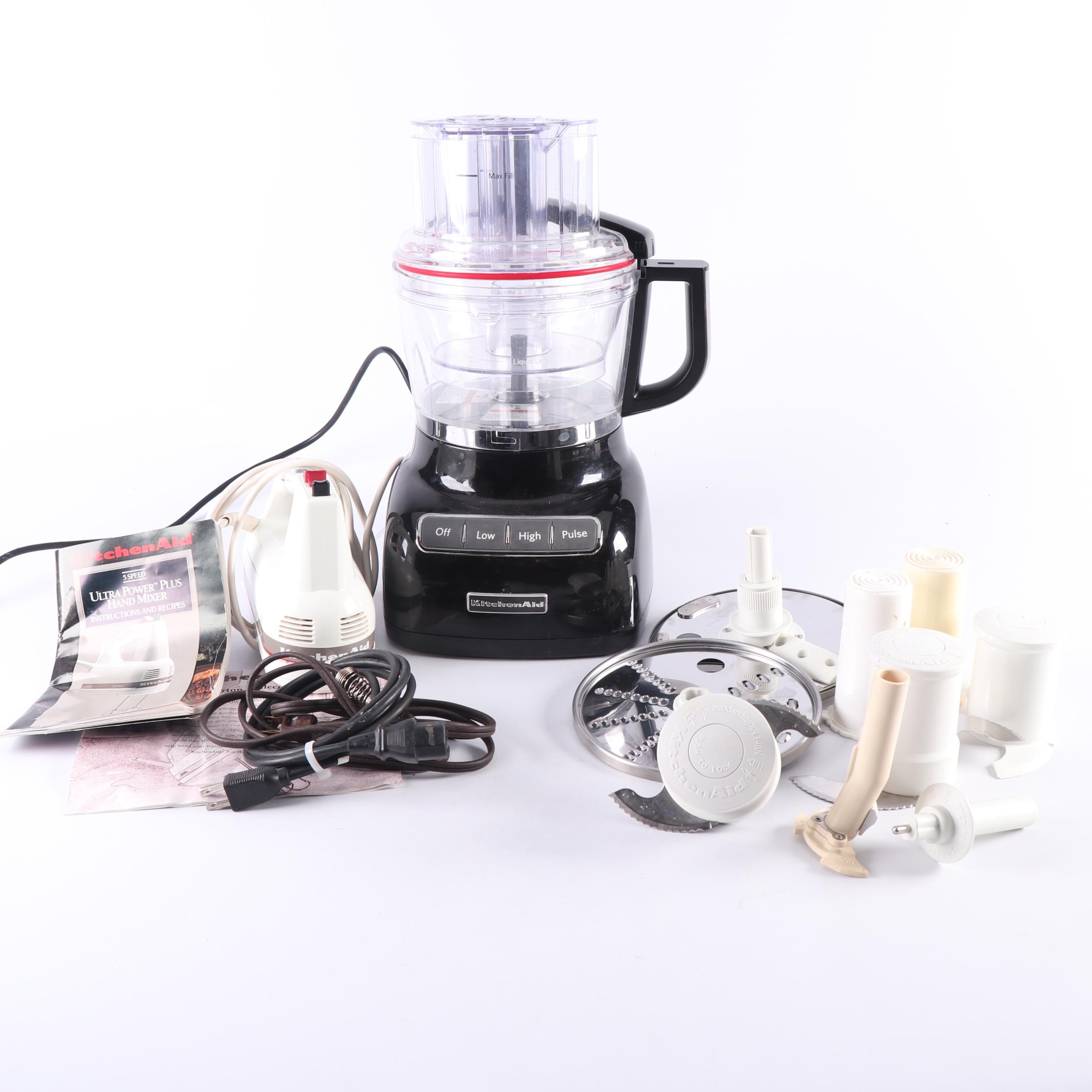 Kitchen Aid Food Processor and Mixer