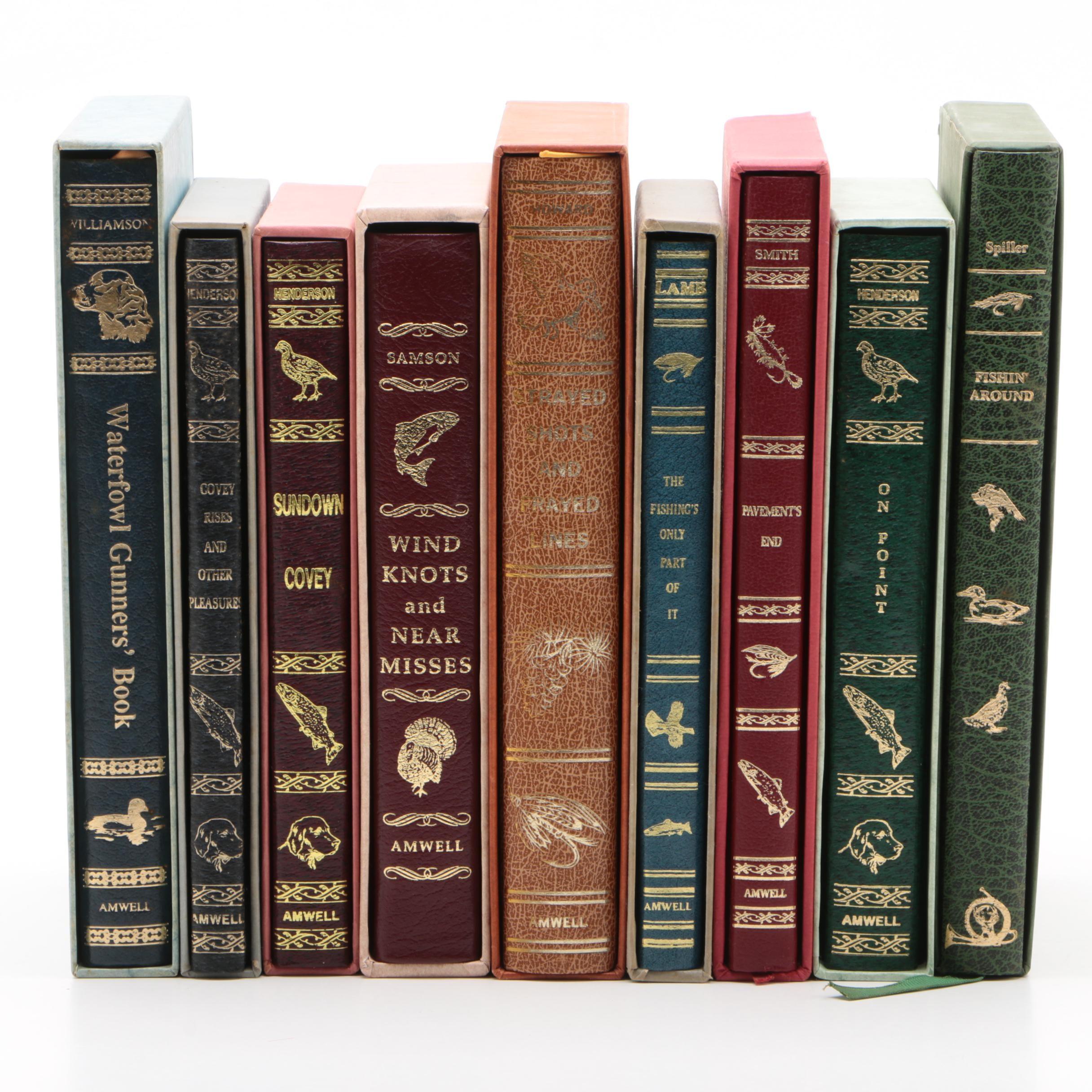 Amwell Press Fishing and Waterfowl Hunting Anthology Books
