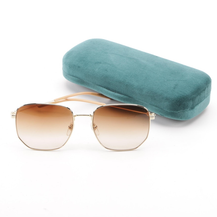 b8175c8746 Gucci GG0396S Sunglasses with Case   EBTH