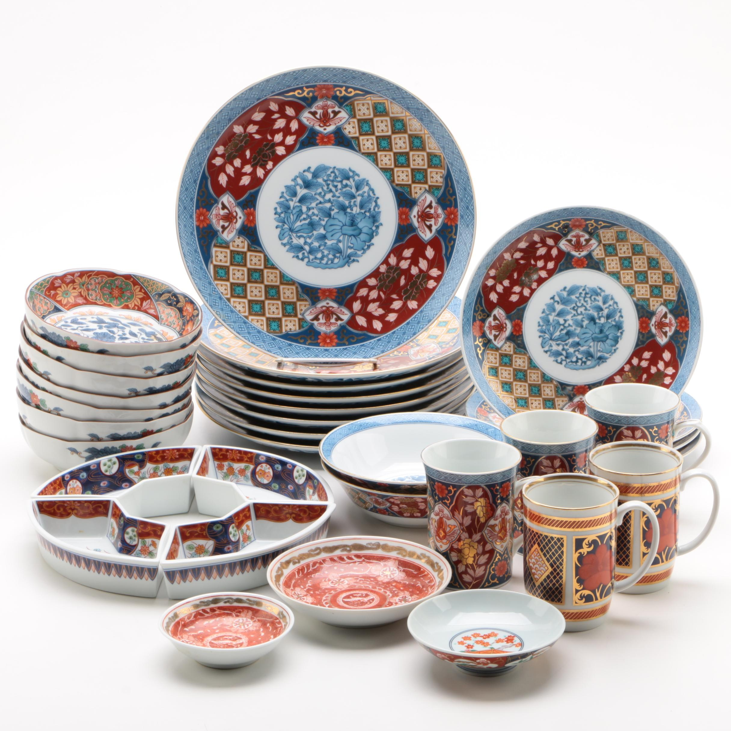 Porcelain Dinnerware including Smithsonian Insitute and Fitz & Floyd