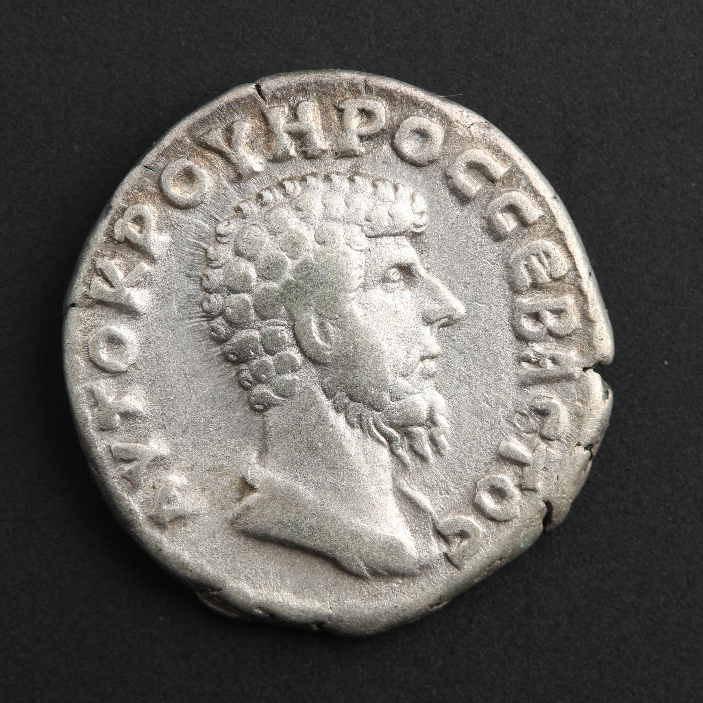 AR Didrachm of Lucius Verus, Cappodocia, Caesarea, ca. 161 A.D.