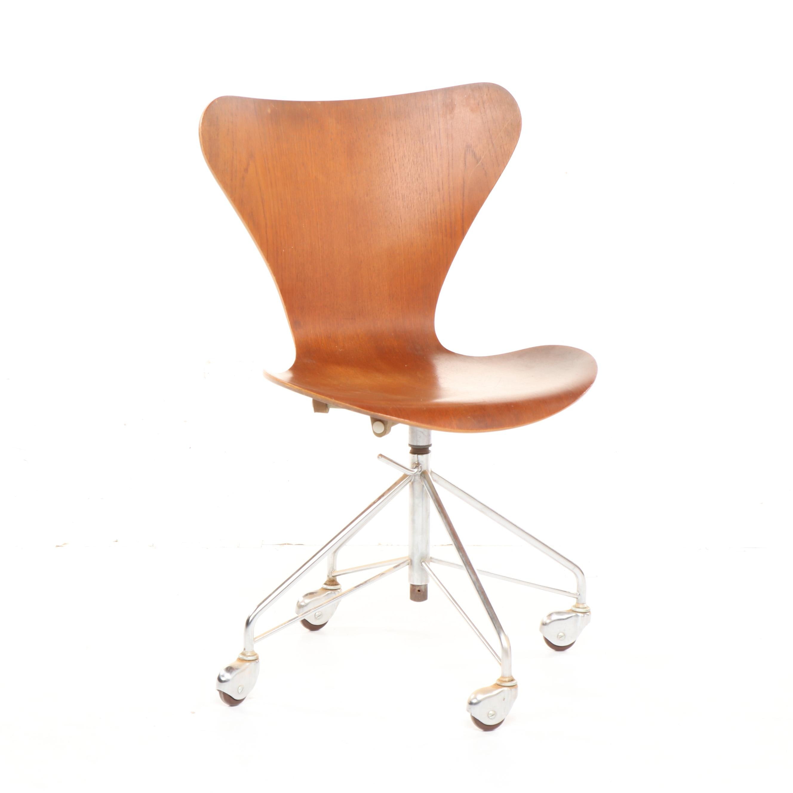 Arne jacobsen office chair Model 3117 Everything But The House Series 7