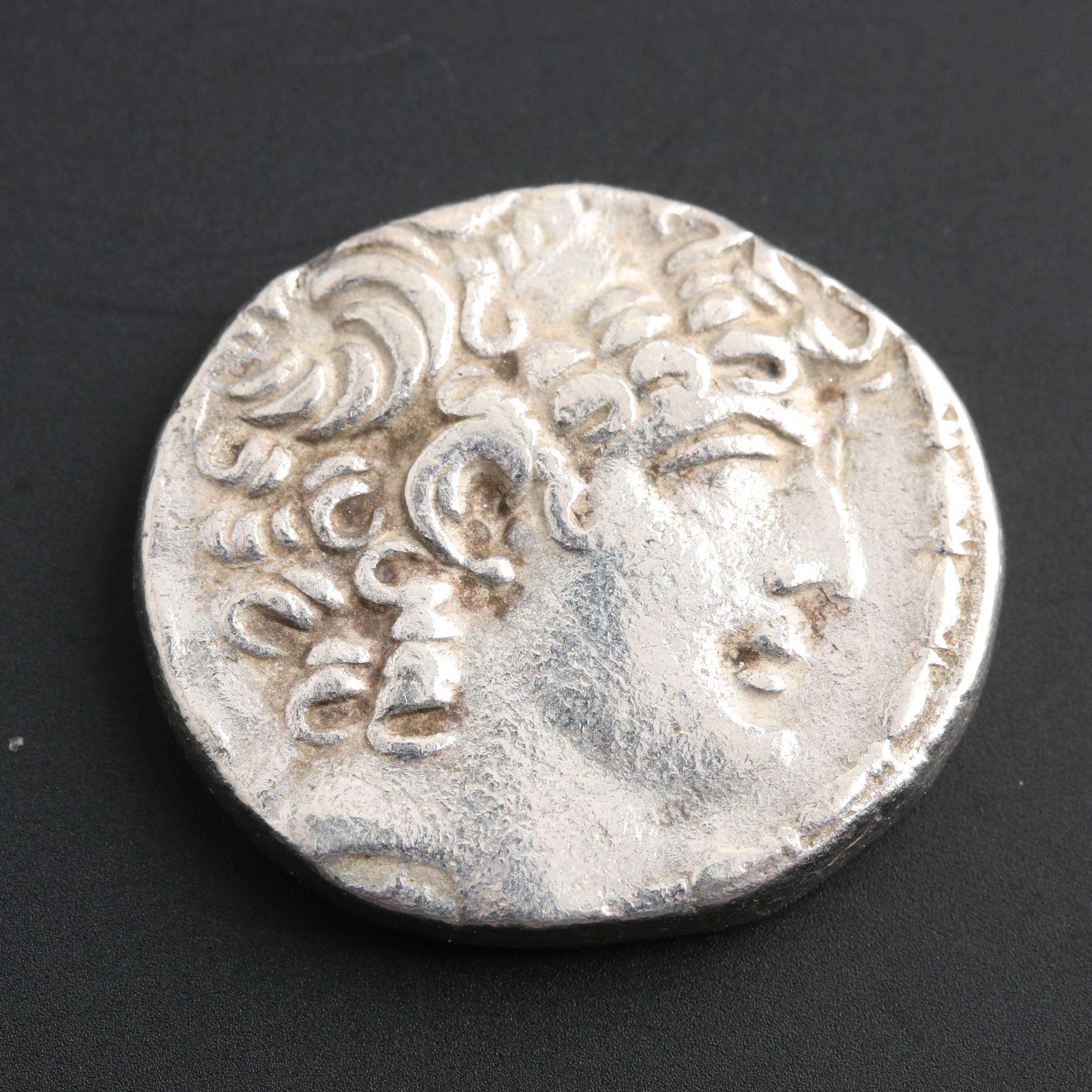 Philip I Seleucid Kingdom AR Tetradrachm