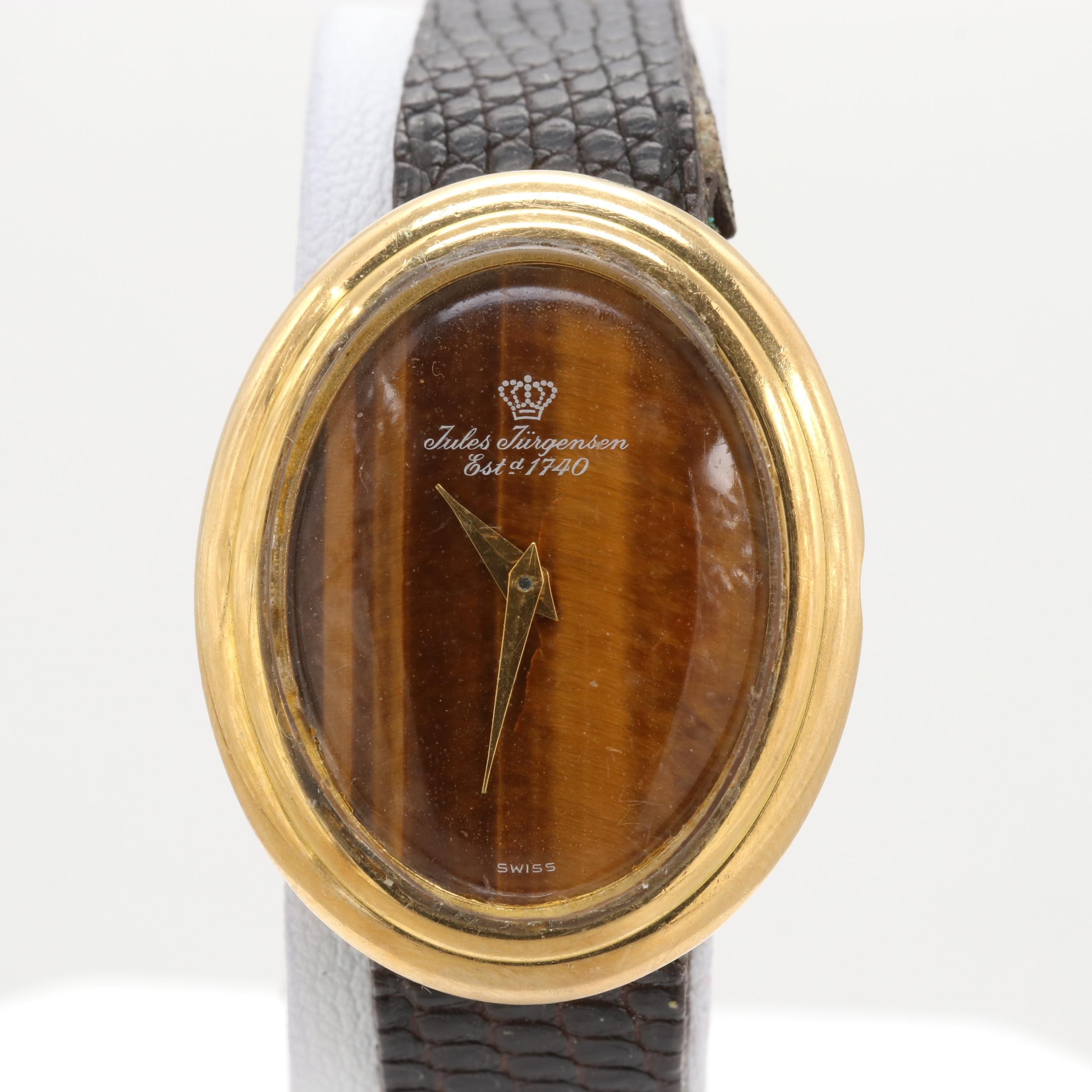 Jules Jurgensen 18K Yellow Gold Wristwatch
