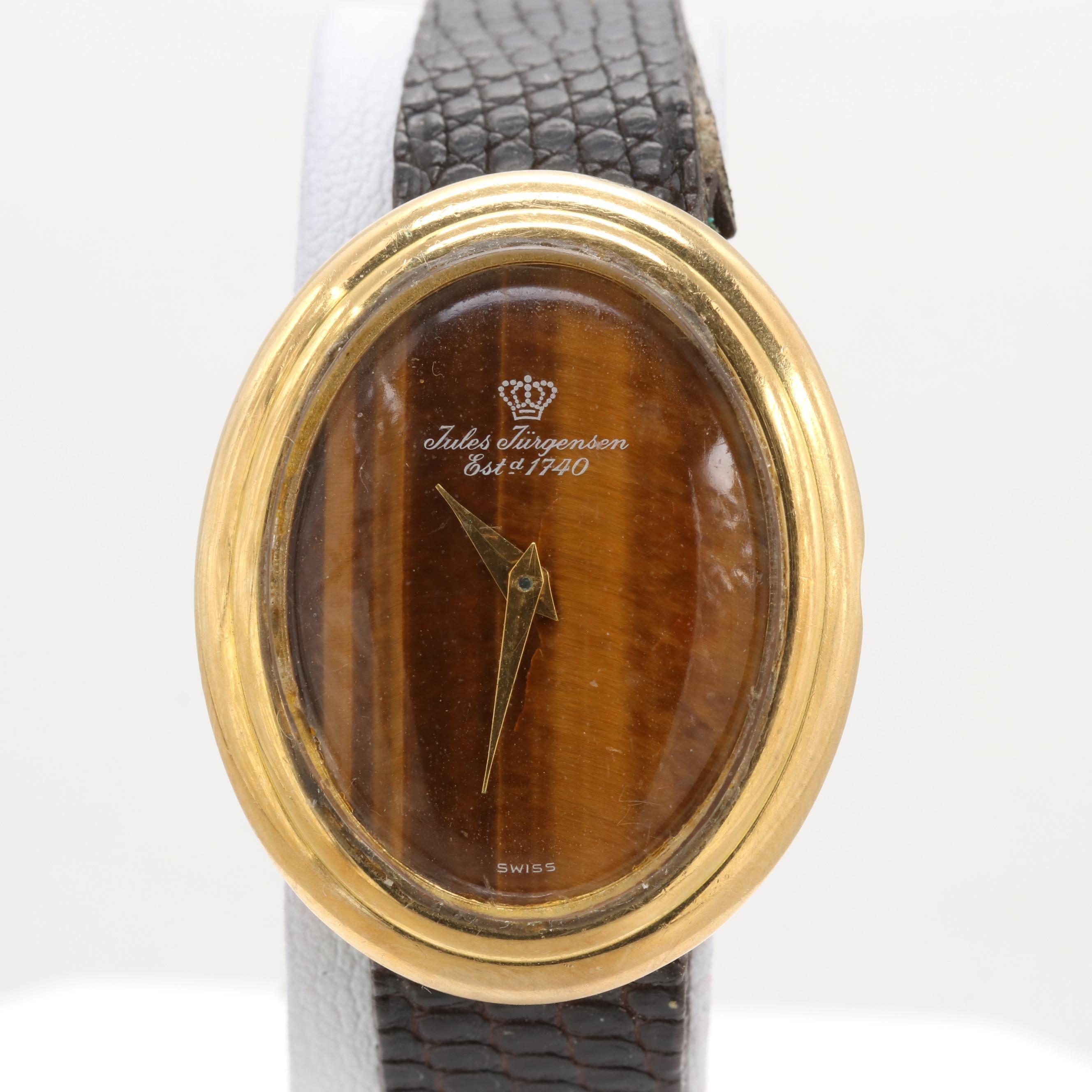 Jules Jurgensen 18K Yellow Gold Wristwatch
