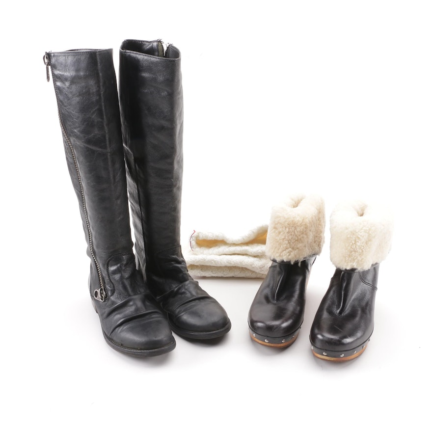 01bb3f01188 UGG Lynnea and Steve Madden Boots with Hunter Inserts