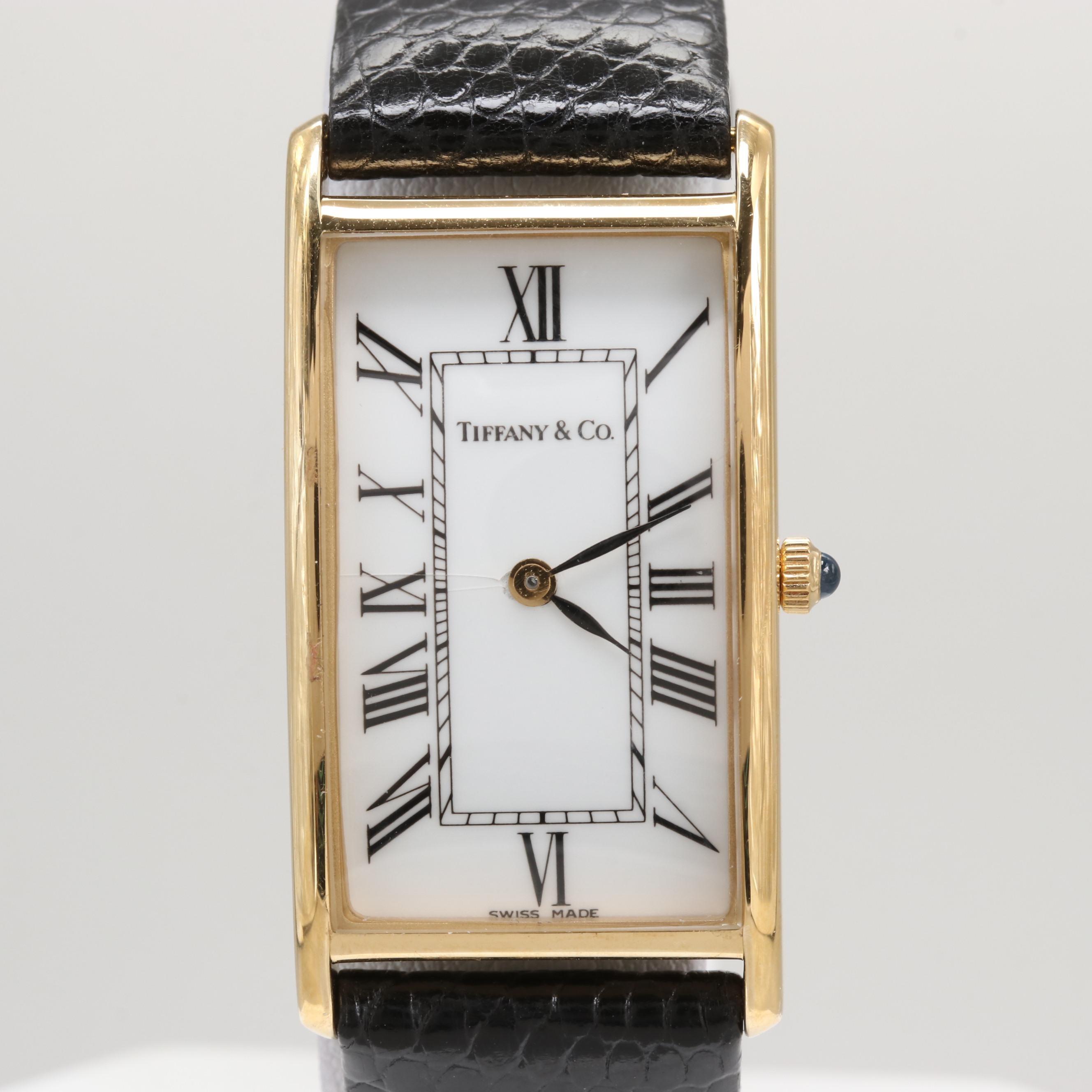 Tiffany & Co. 14K Yellow Gold Quartz Wristwatch