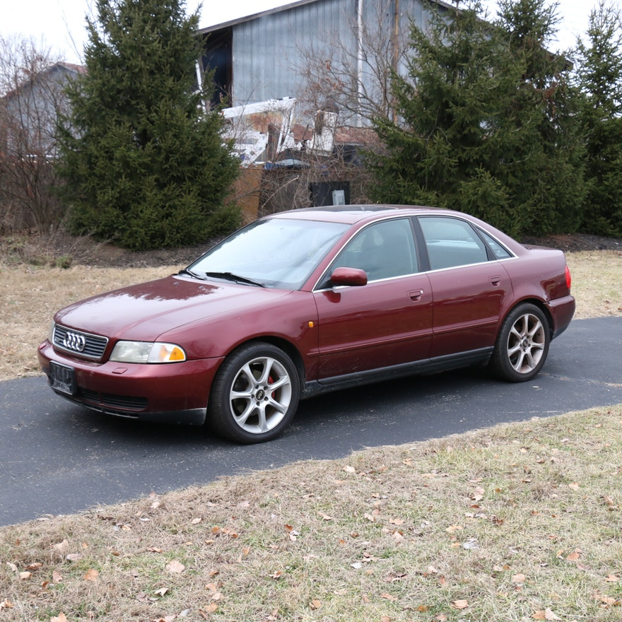 1999 Audi A4 Quattro Automobile EBTH