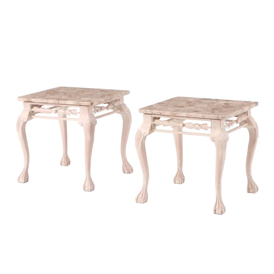 Granite Top Side Tables : EBTH