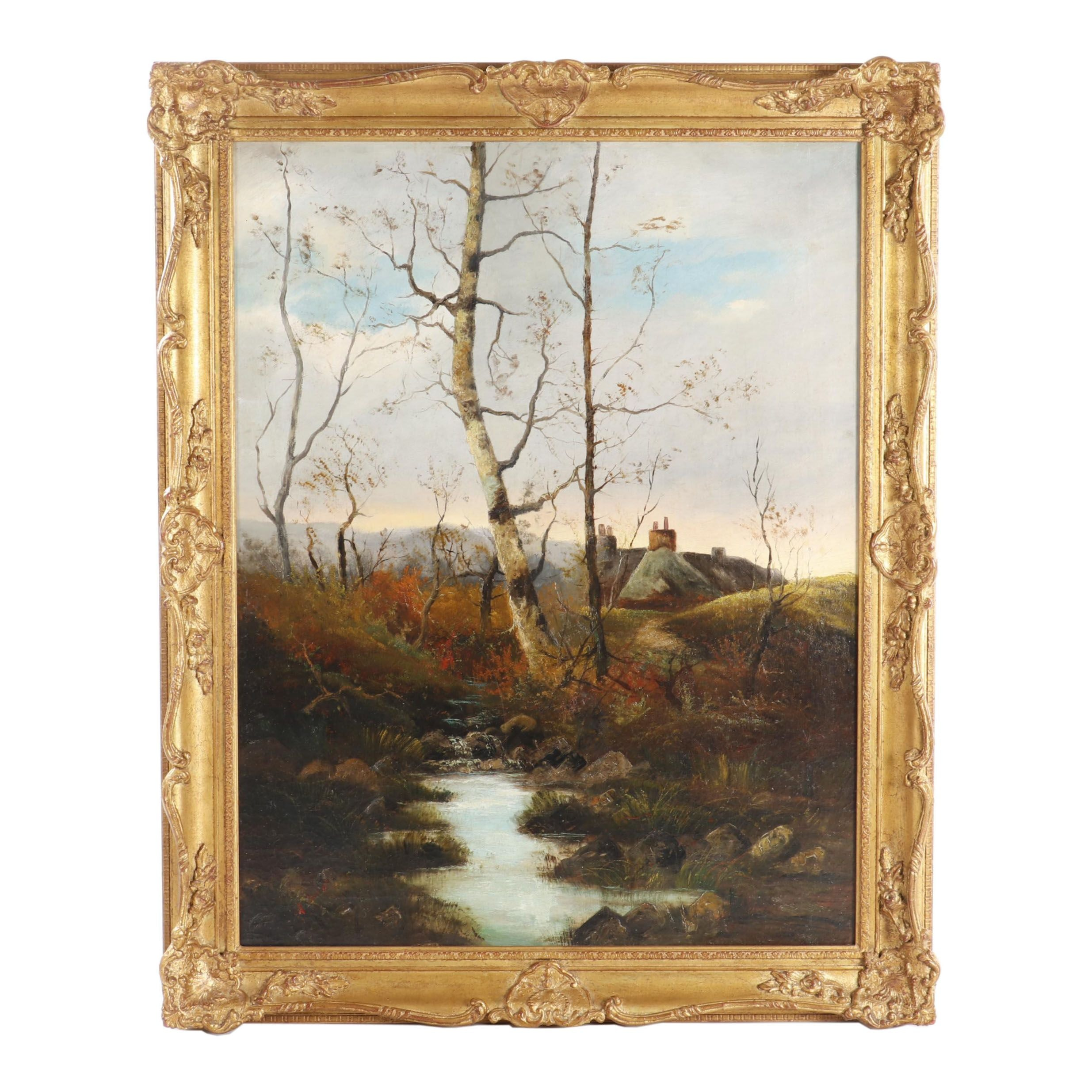 Oil Painting Attributed to Cecil Stringer