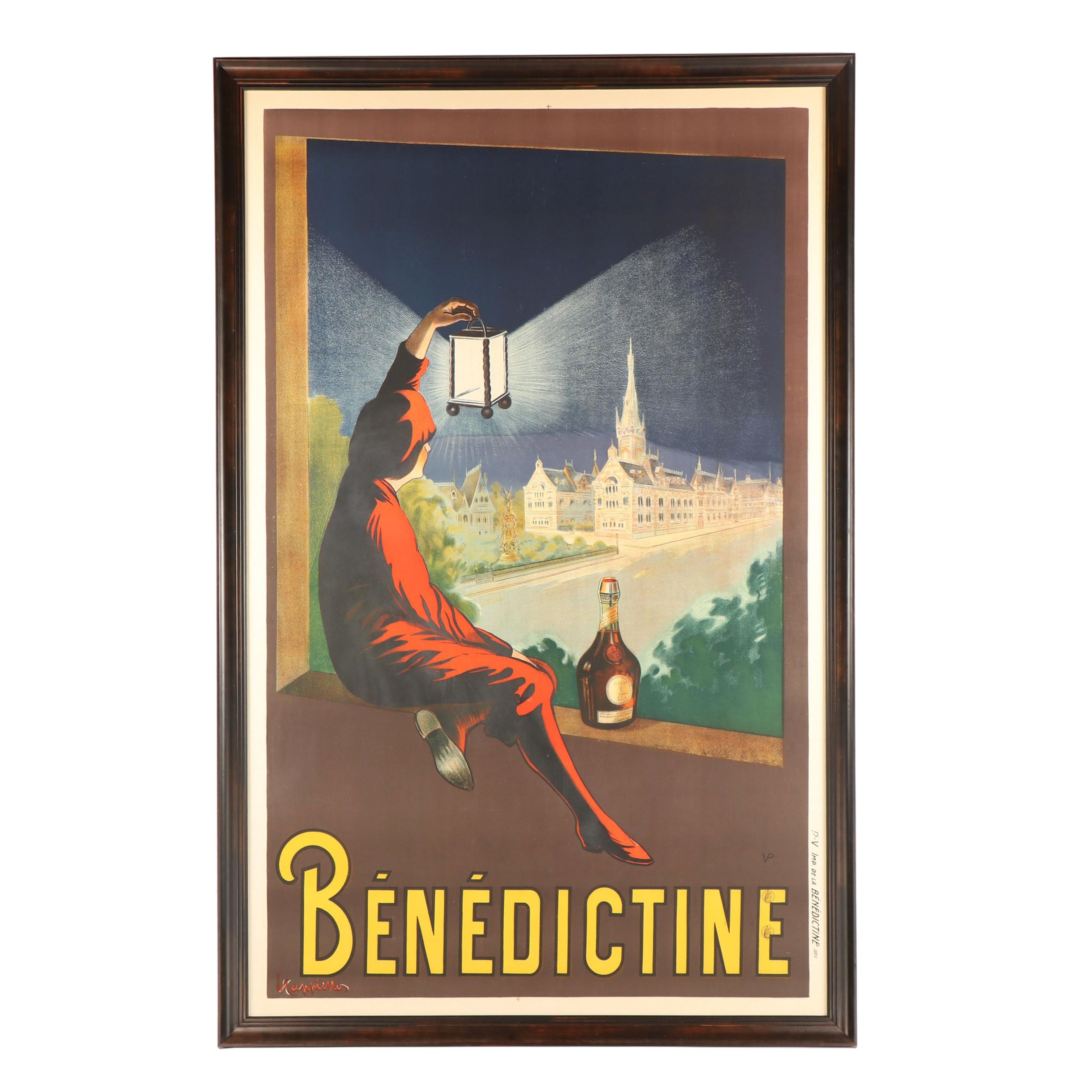 "Leonetto Cappiello Poster ""Benedictine"""