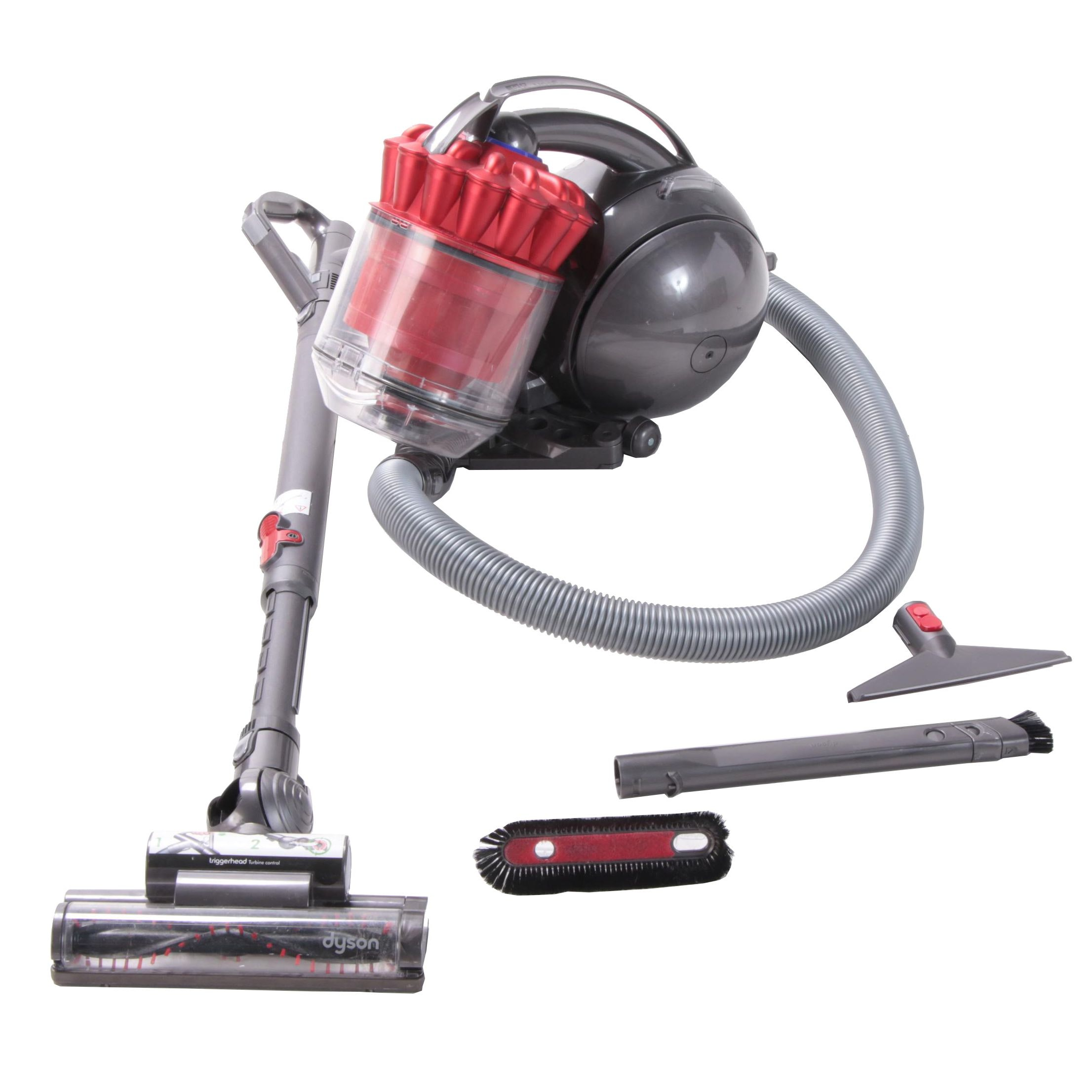 Dyson DC39 Ball Multi Floor Canister Vacuum Cleaner with Attachments