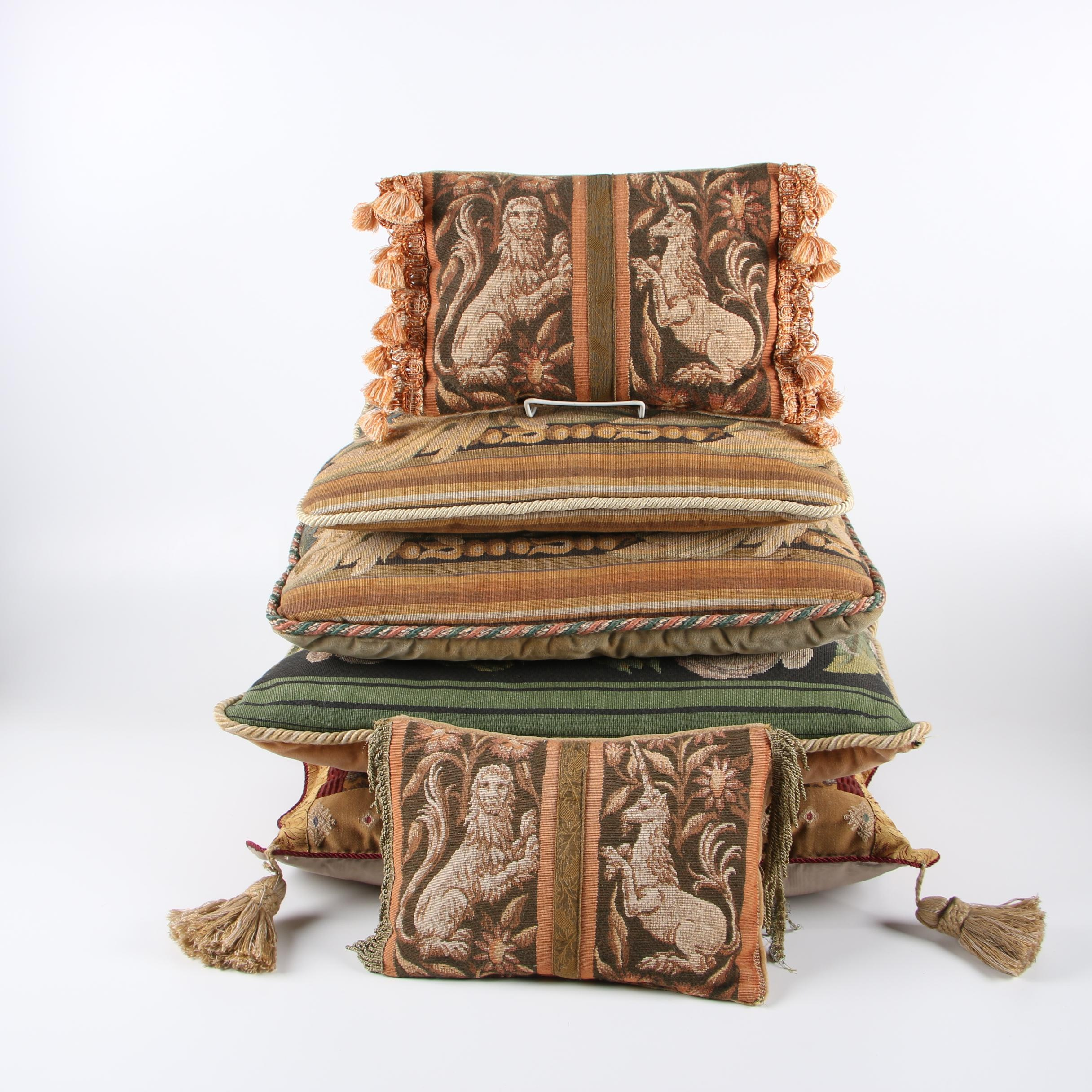 Tapestry Style Decorative Pillows