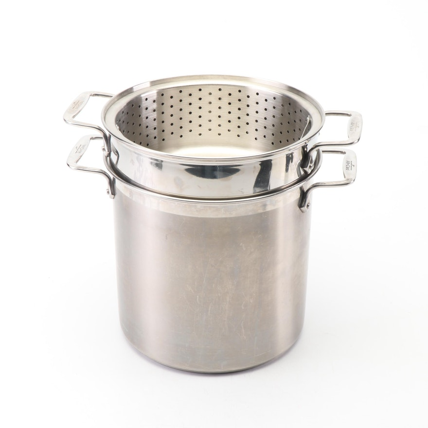 All-Clad Stock Pot with Steamer Racks