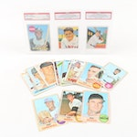 1969 Bob Clemente Baseball Card, Babe Ruth NSCC Promo Cards, and More