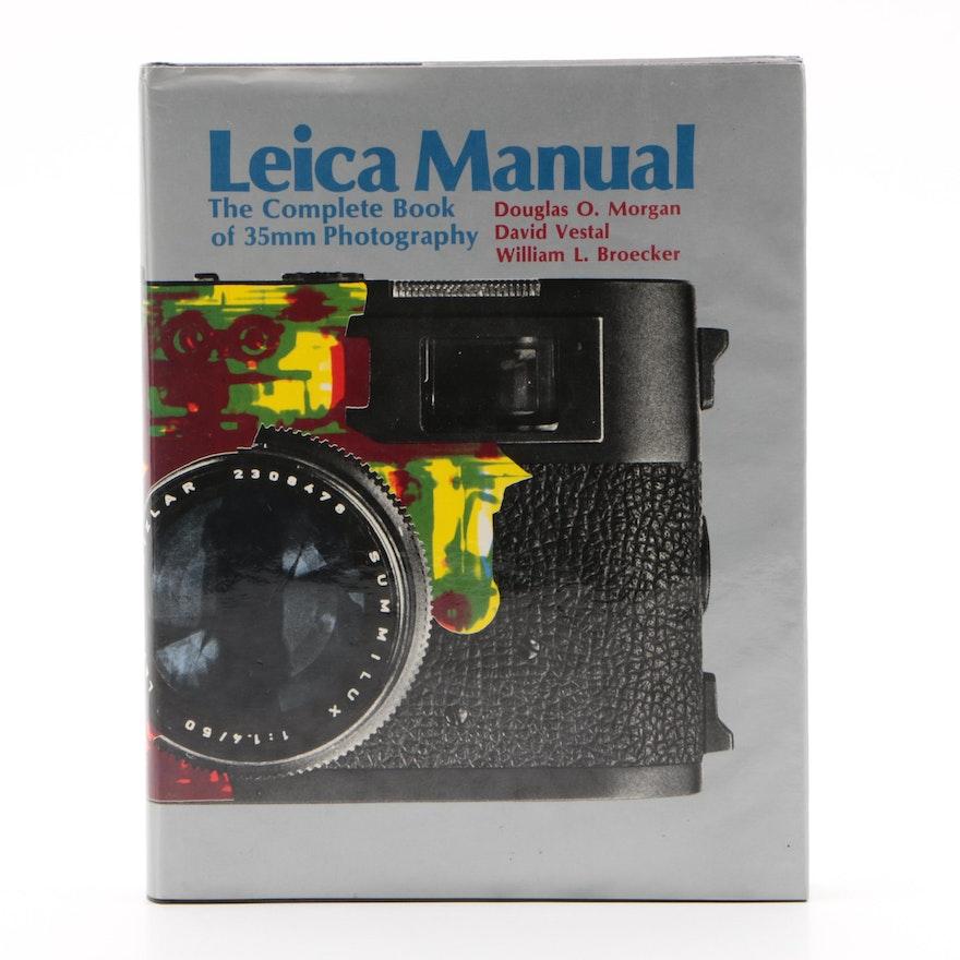 """""""Leica Manual: The Complete Book of 35mm Photography"""" 15th Edition, 1973"""
