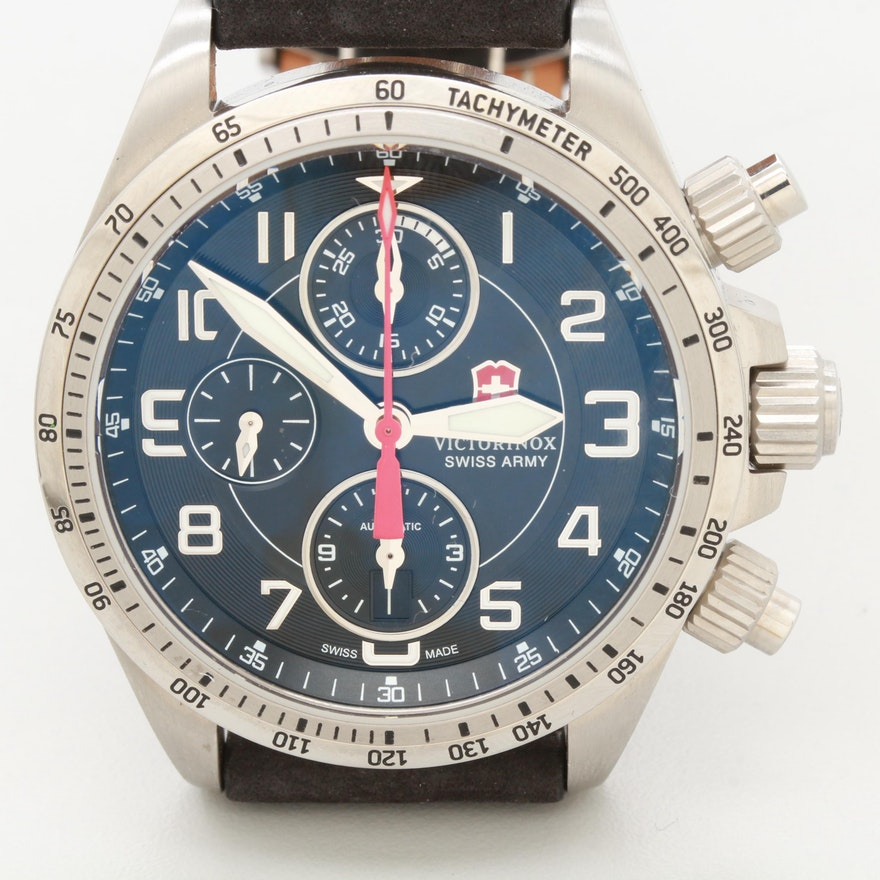 Victorinox Swiss Army Chrono Pro Automatic Chronograph Wristwatch