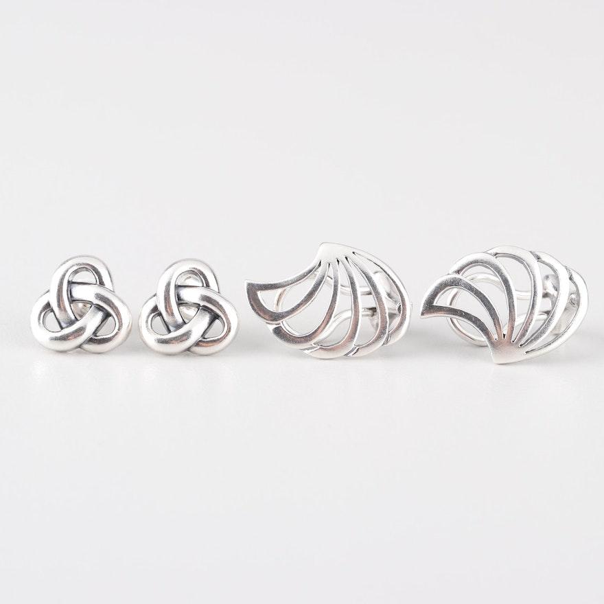 aaad5b6a0 James Avery Sterling Silver Stud Earrings : EBTH