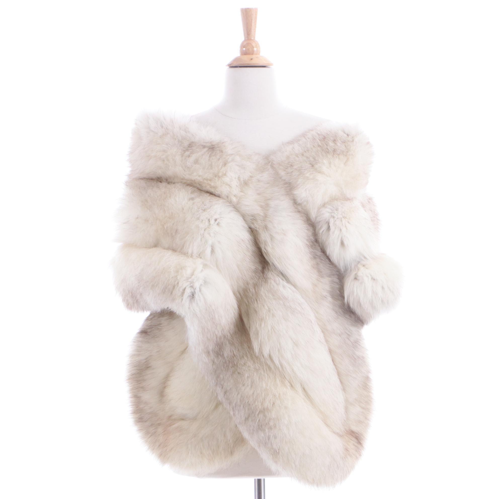 Vintage Shillito's Fur Salon Fox Fur Stole