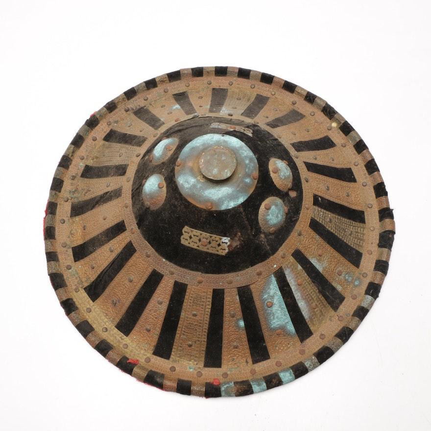 Ethiopian Amhara Ceremonial Round Shield