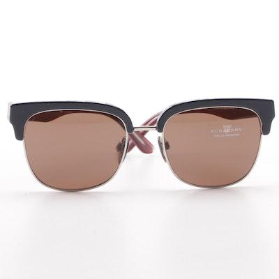 48e22a972bb Burberry B 4272 Browline Sunglasses
