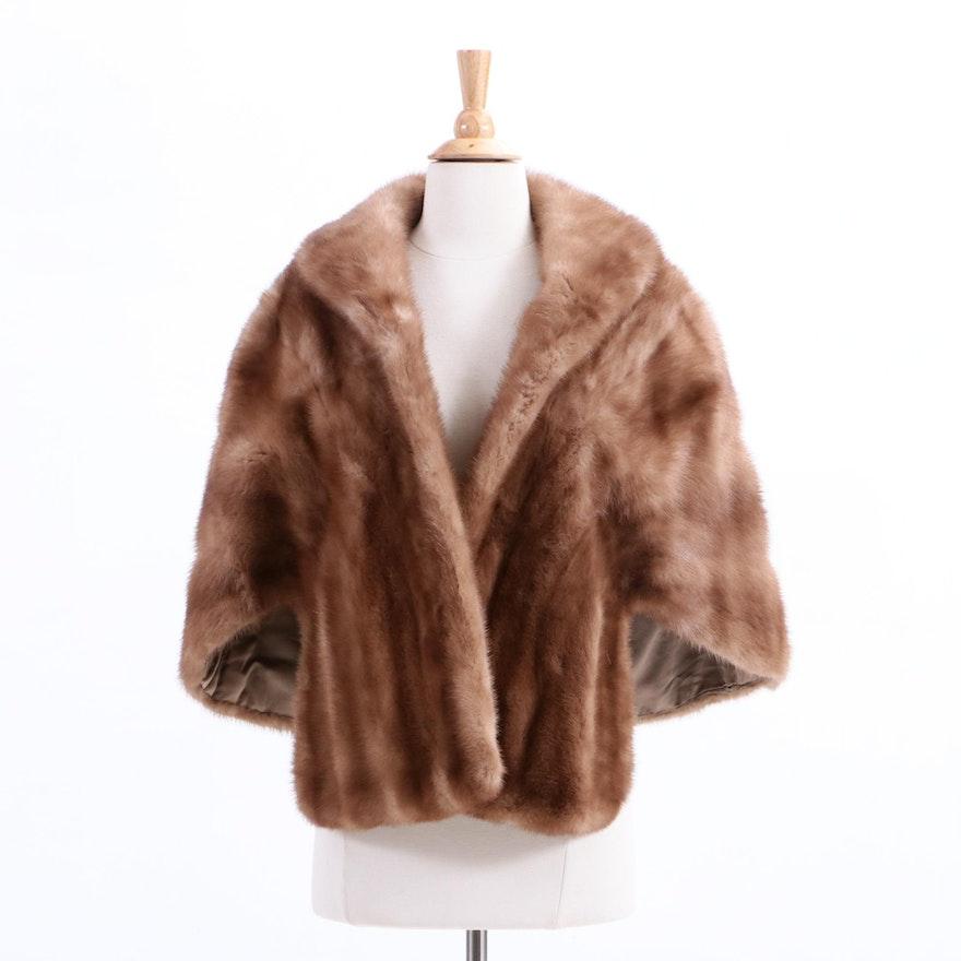 Vintage McAlpin's Mink Fur Stole