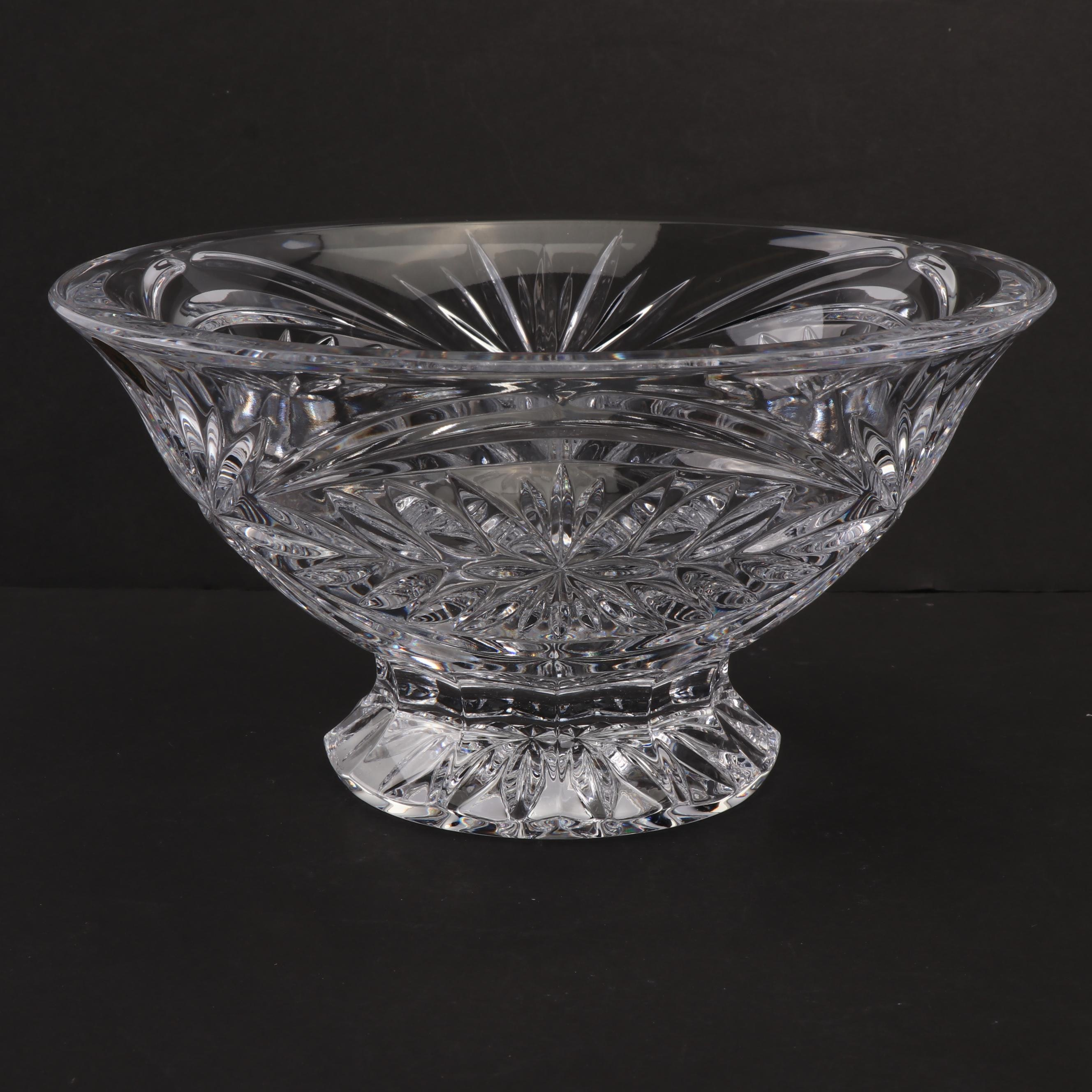 """Waterford Crystal """"Tracy"""" Footed Bowl"""