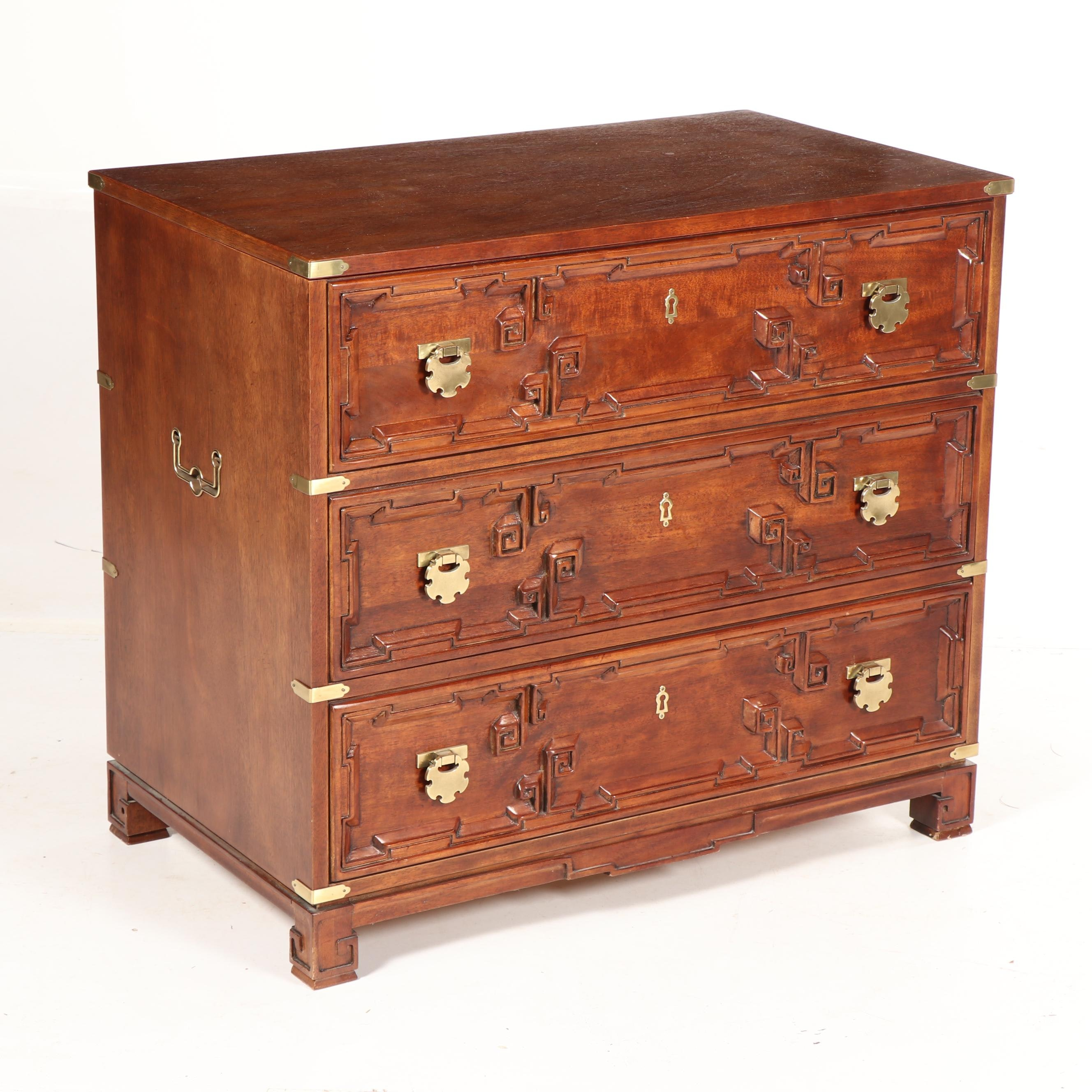 Chinese Wooden Faux Chest of Drawers Pop Up Cabinet, 20th/21st Century