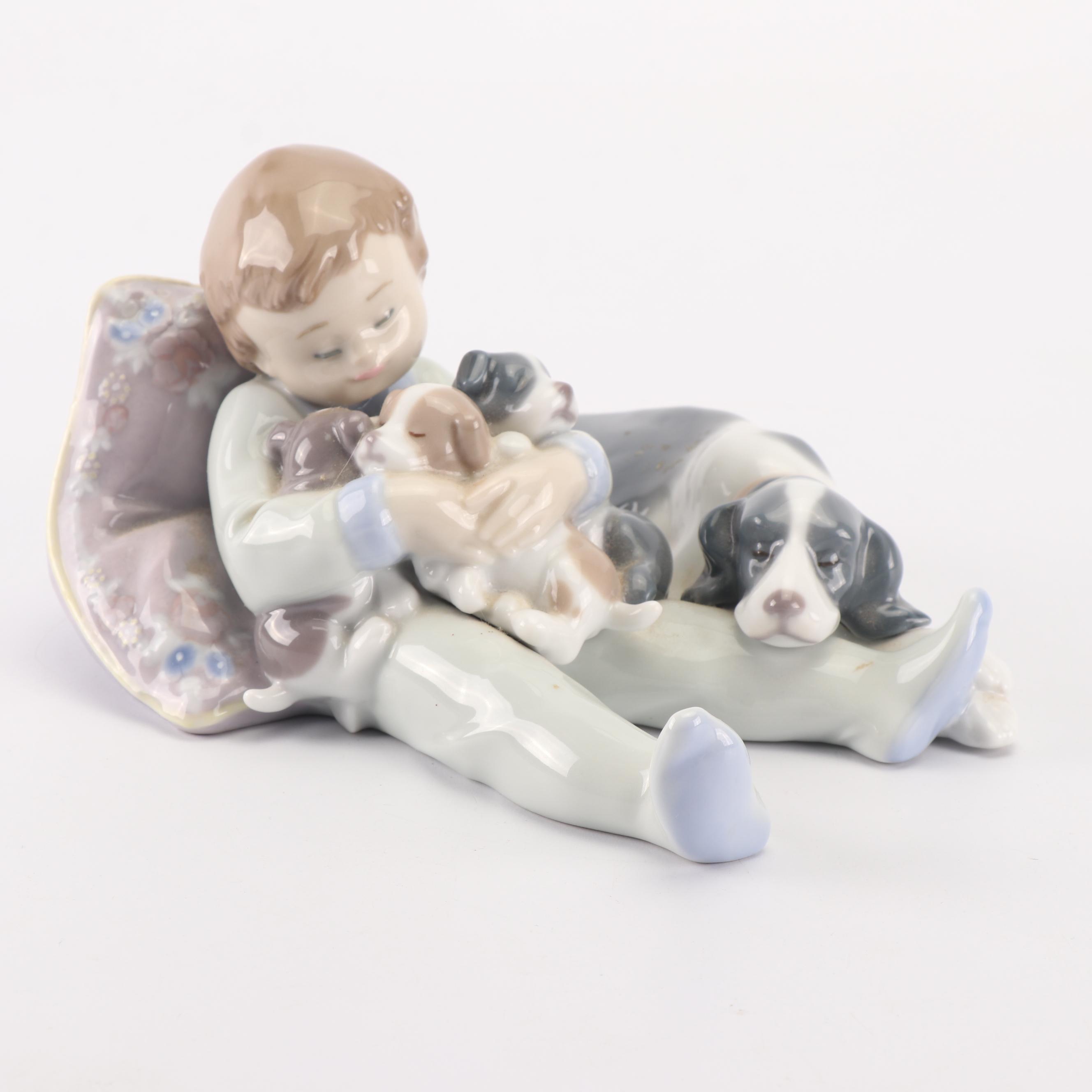 "Lladró ""Sweet Dreams"" Porcelain Figurine, 1987"