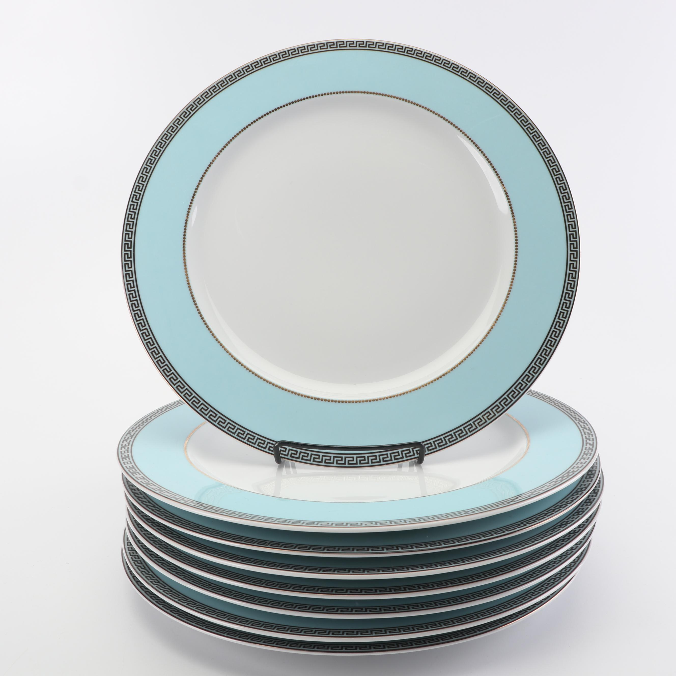 """Versace for Rosenthal """"Continental"""" Porcelain Service Plates"""