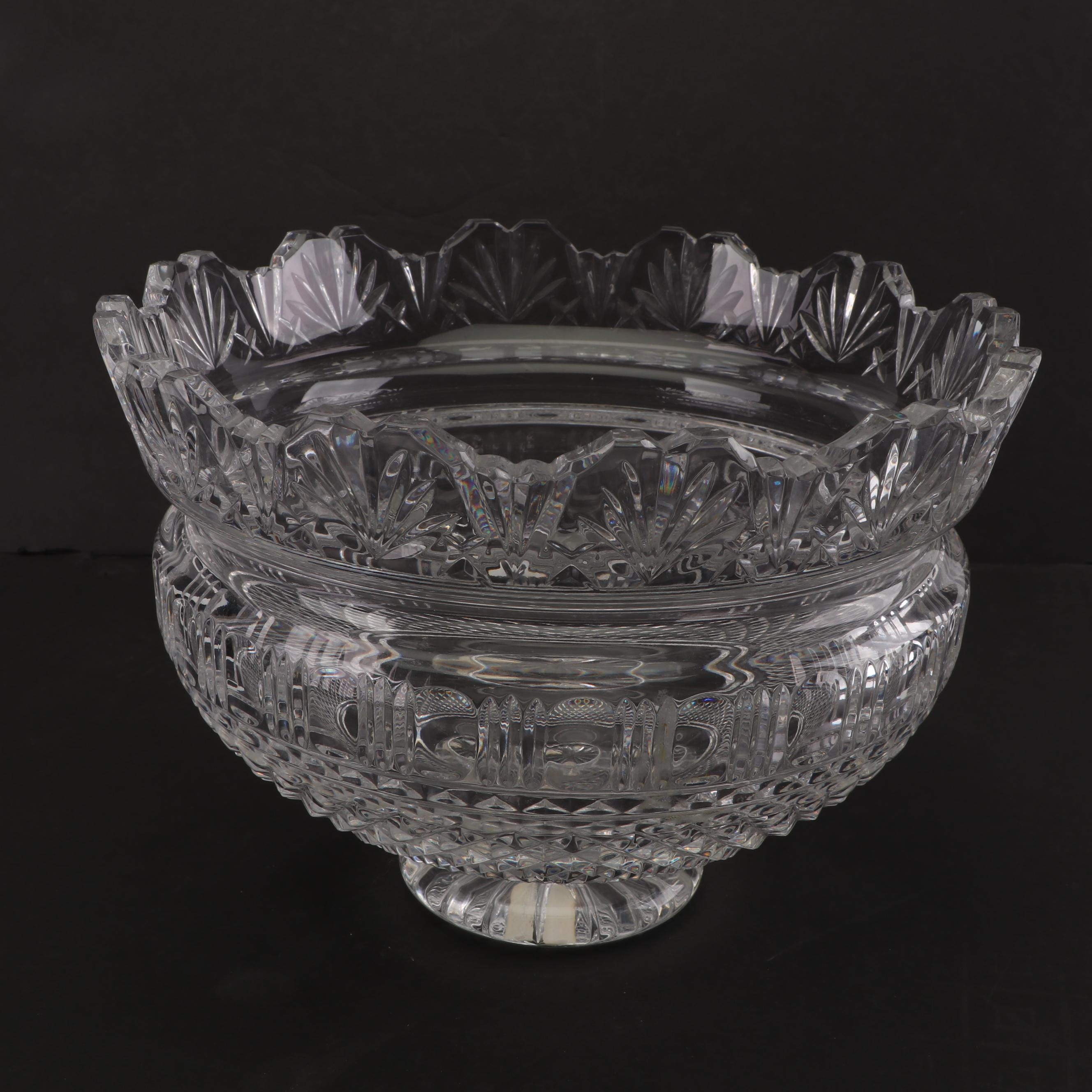 """Waterford Crystal """"Kings"""" Bowl from the Designers Gallery Collection"""
