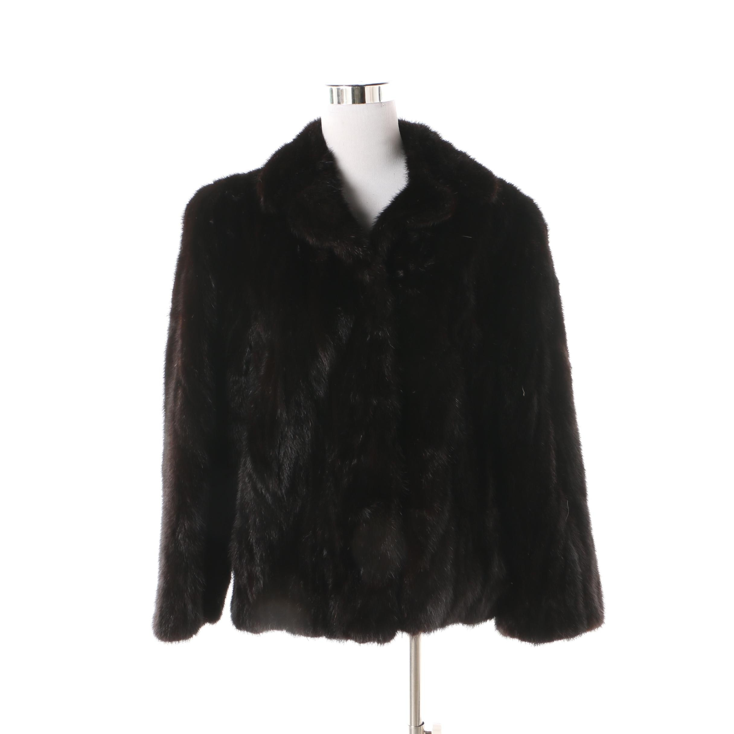 Women's Vintage Ranch Mink Fur Jacket