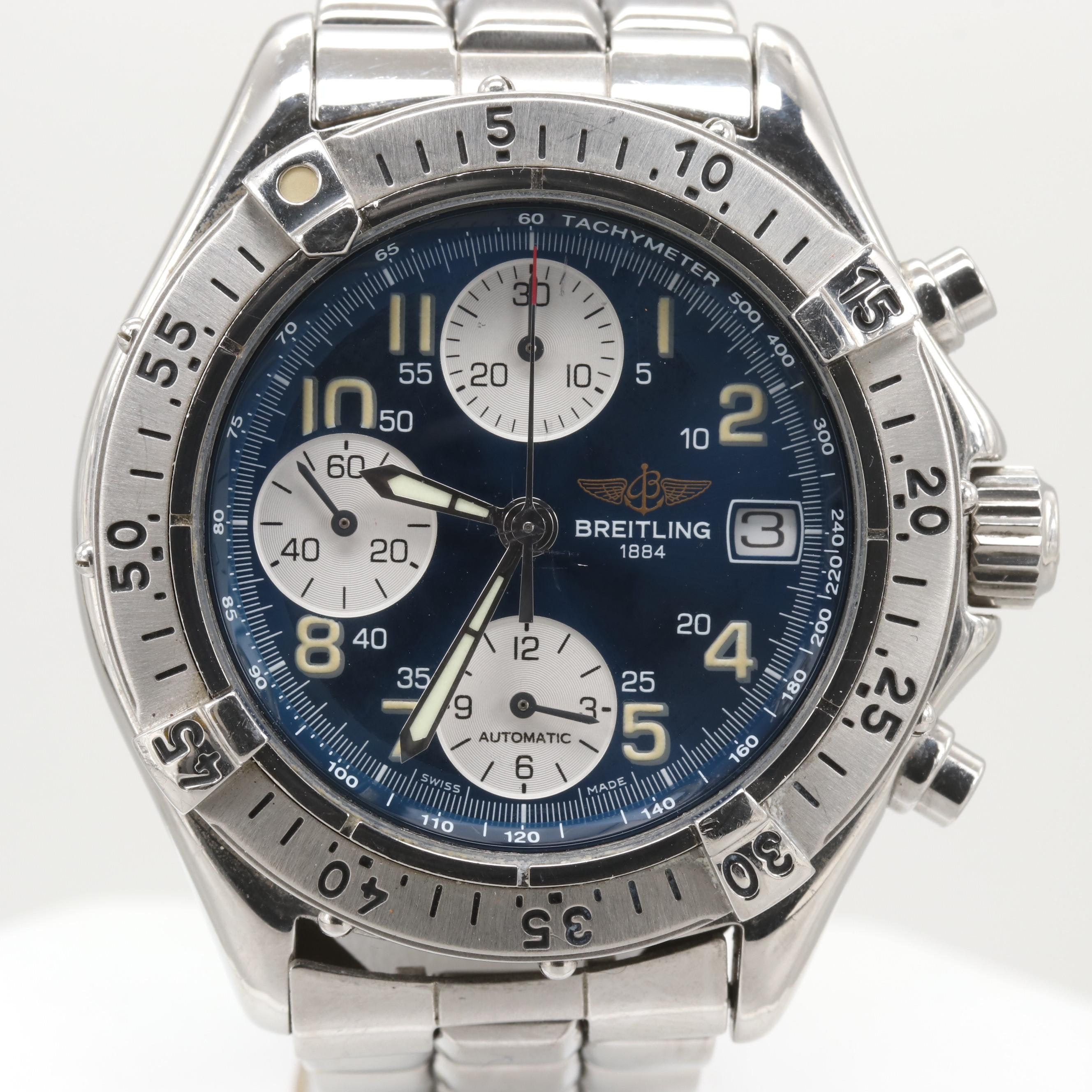 Breitling Colt Chronograph Stainless Steel Automatic Wristwatch