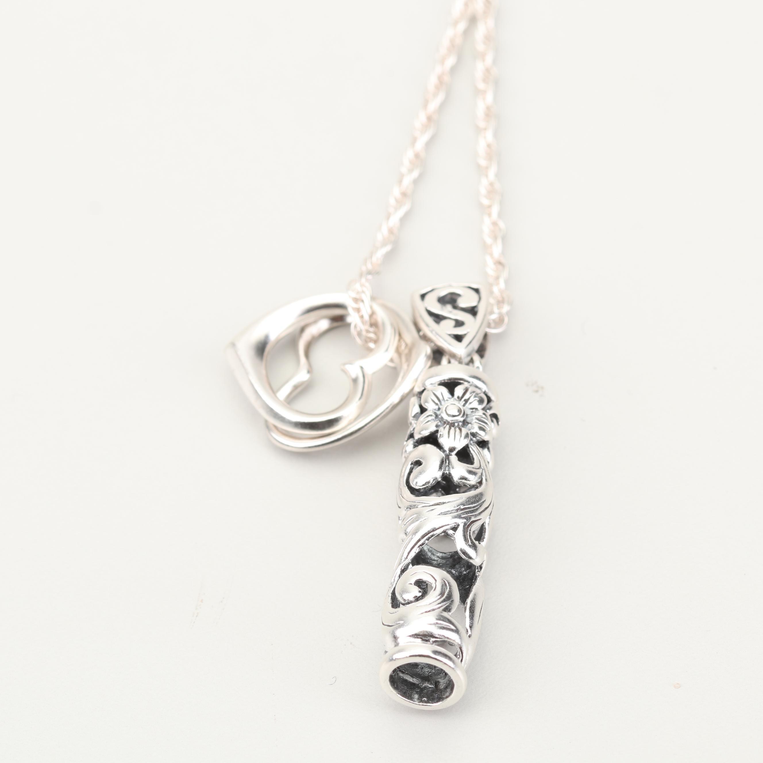 Milor Sterling Silver Pendant Necklace