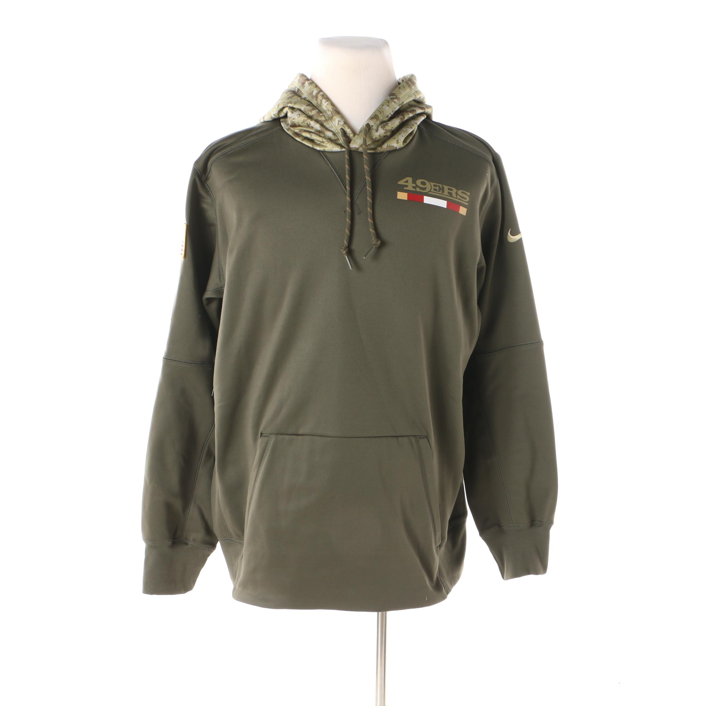 Nike Therma Dri-Fit NFL Licensed Salute to Service Hooded Shirt