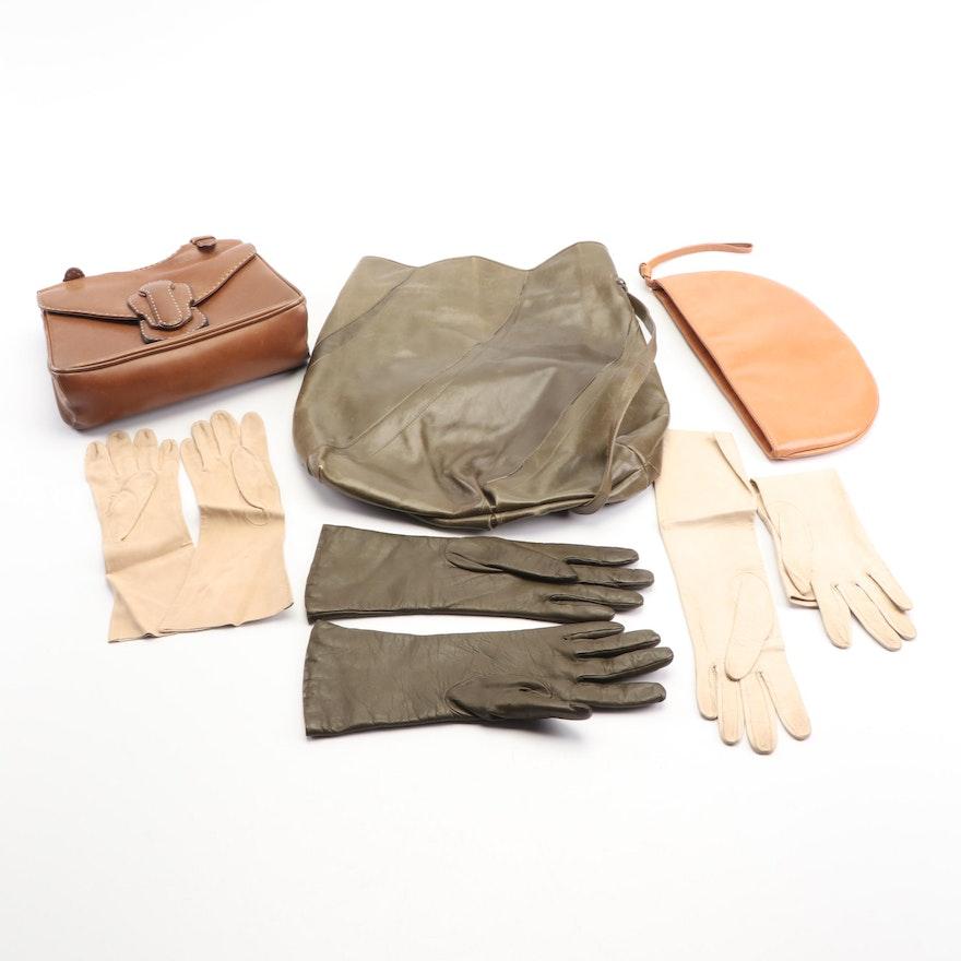 f6b39b8ded5 Vintage Leather Handbags