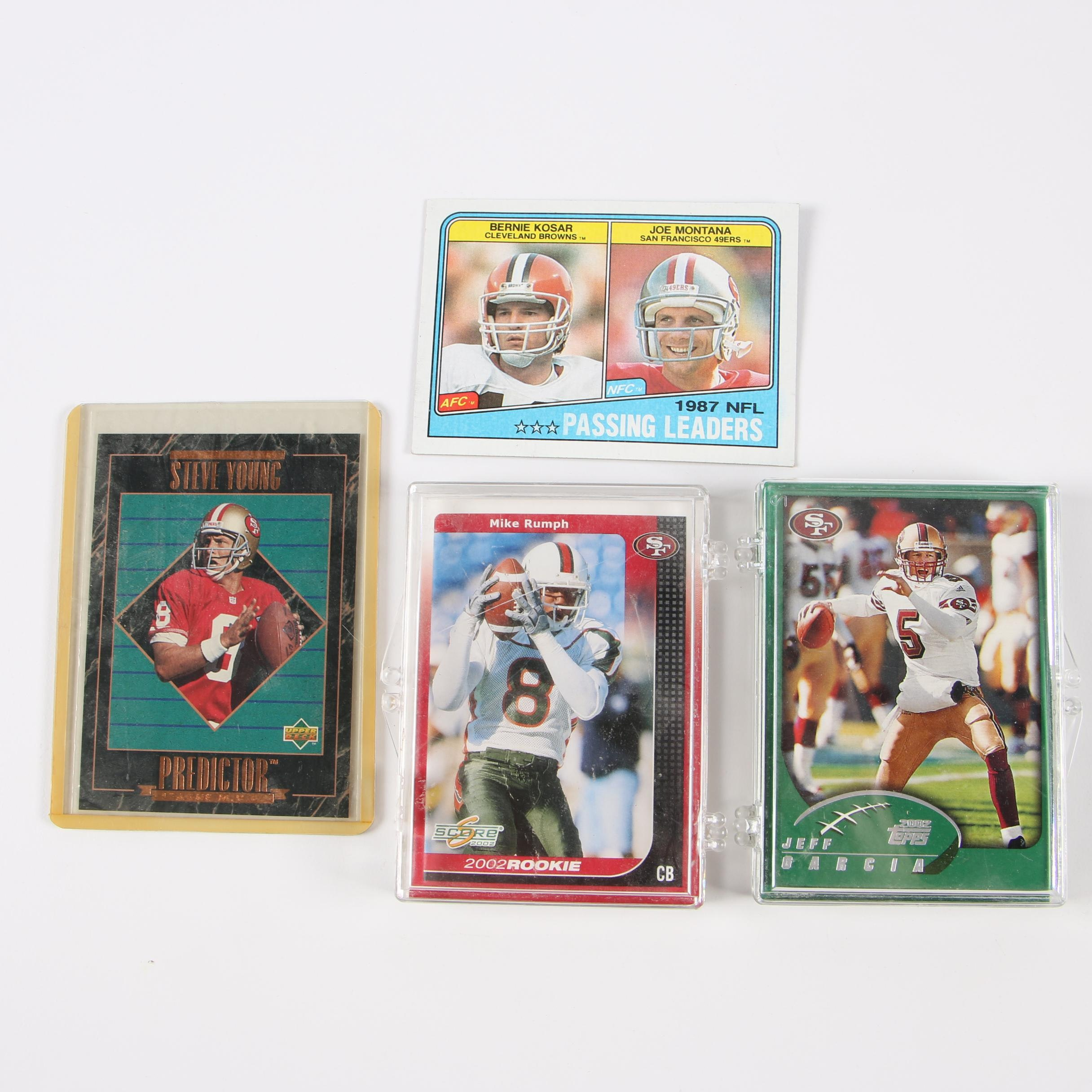 Topps, Upper Deck, and Score Other Football Trading Cards