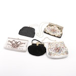 Vintage Beaded and Needlepoint Handbags Including Enameling