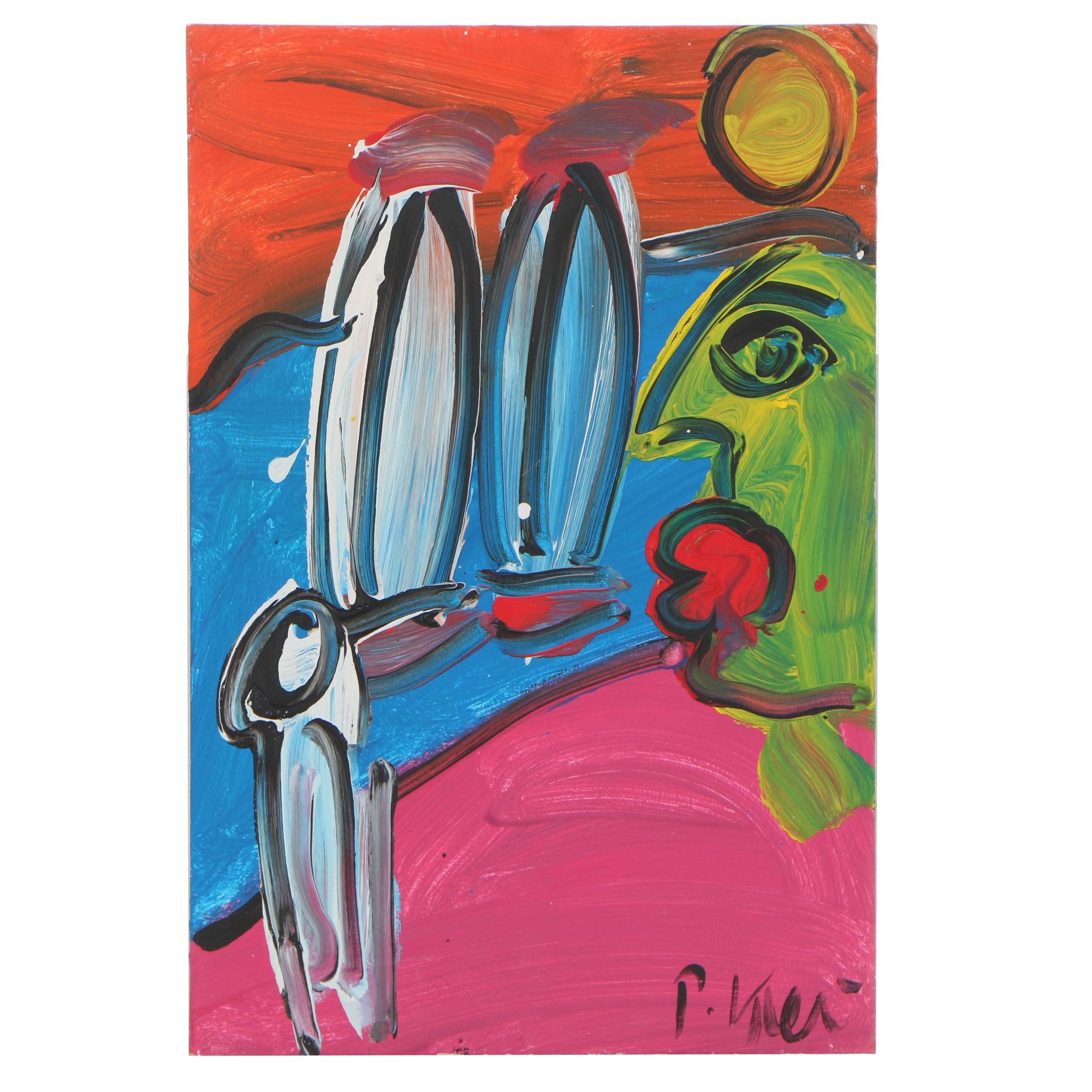 Peter Keil Oil Painting
