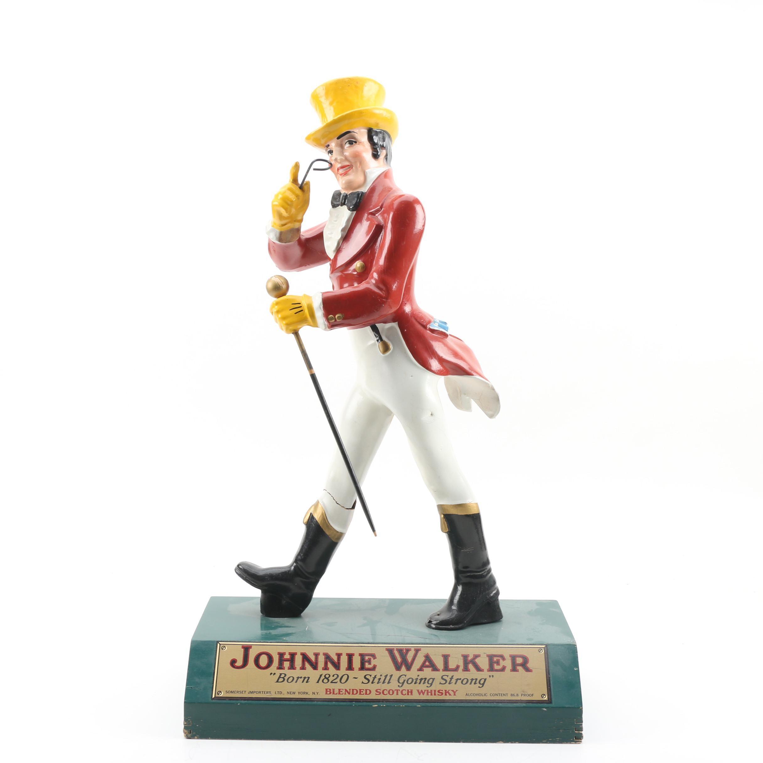Johnnie Walker Painted Advertising Display