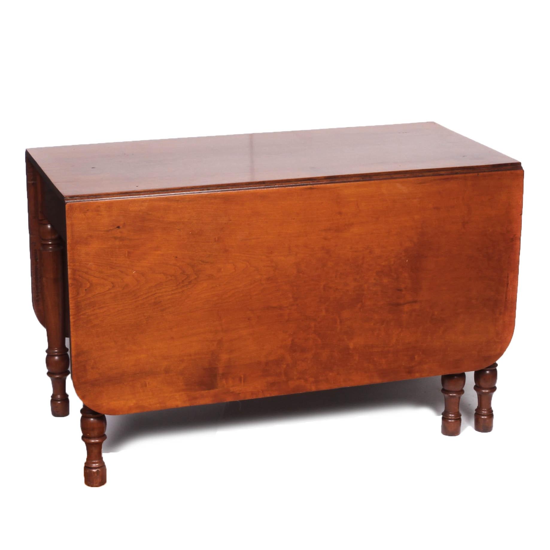 Vintage Gateleg Drop-Leaf Table