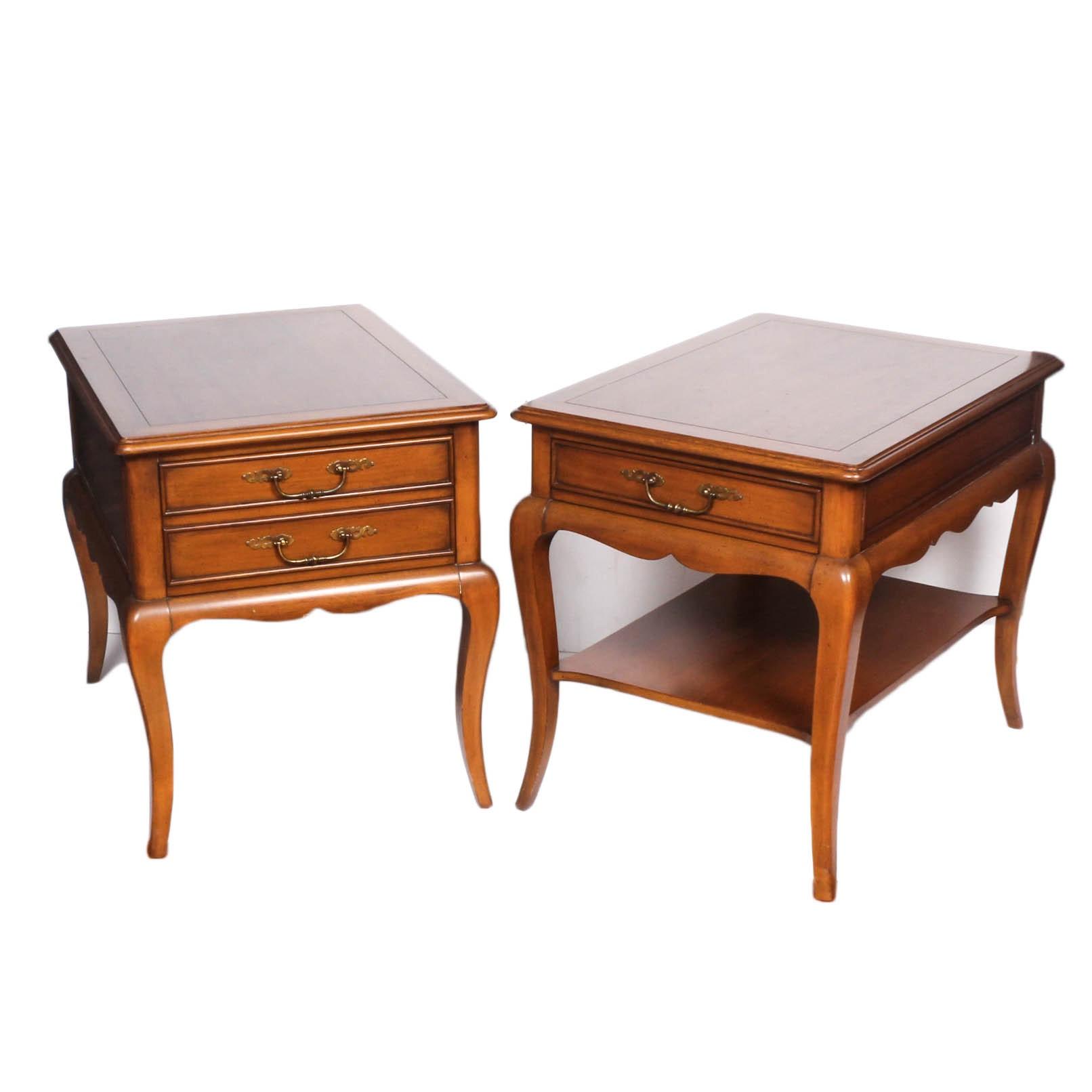 Vintage Hekman Wooden Side Tables