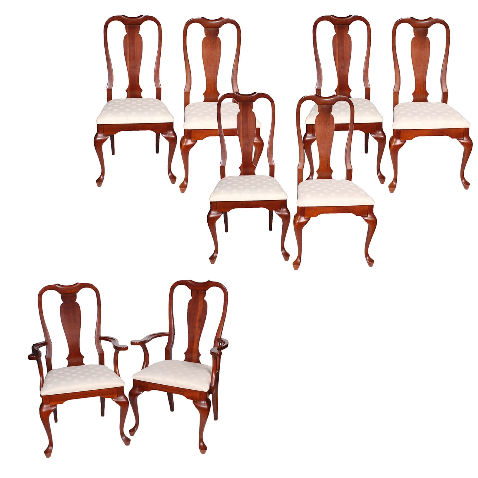 Crescent Furniture Solid Wood Dining Chairs