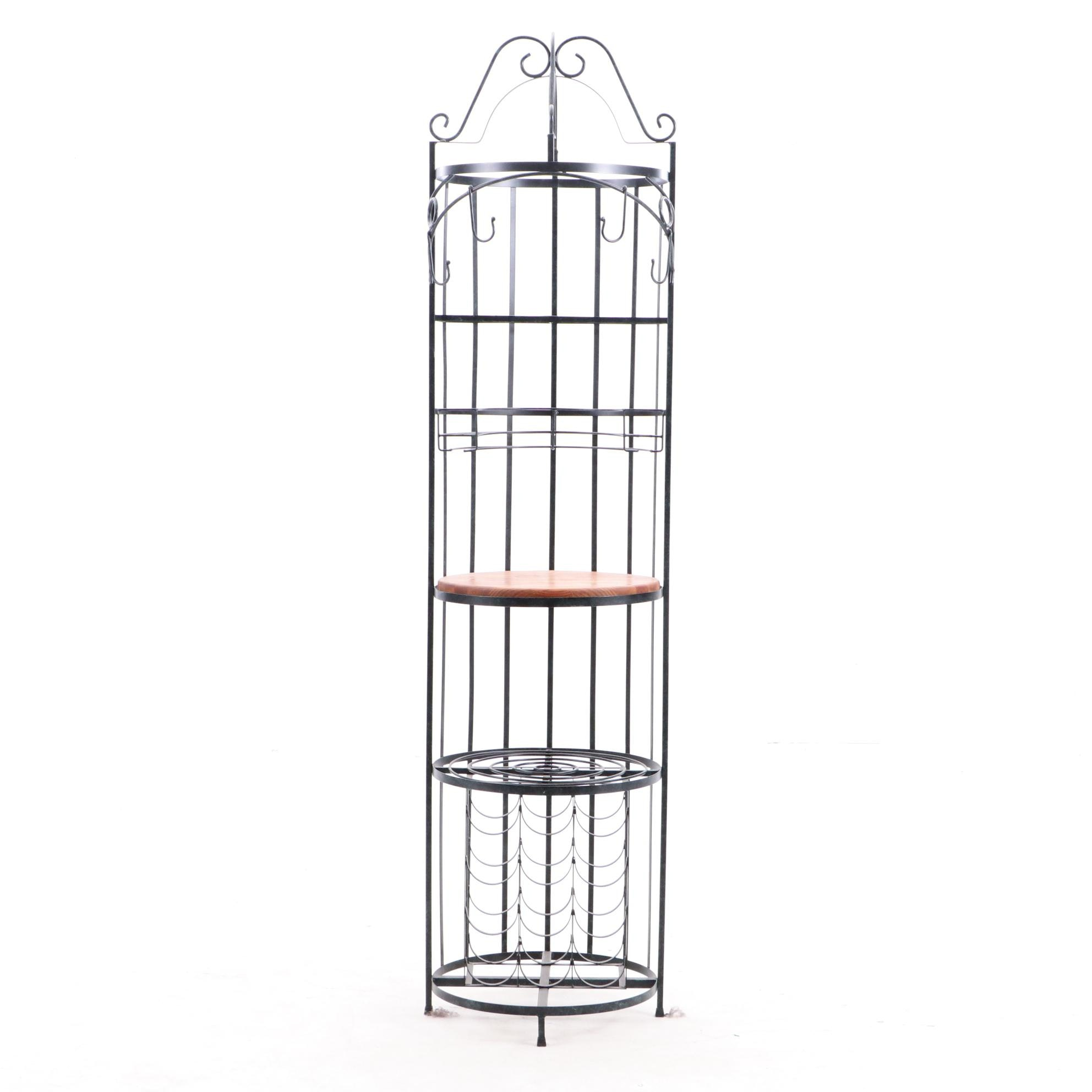 """International Wrought Iron Ltd"" Manufactured Kitchen Stand"
