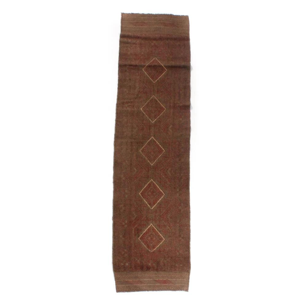 2'1 x 8'5 Hand-Knotted Baluch Mashwani Rug Runner