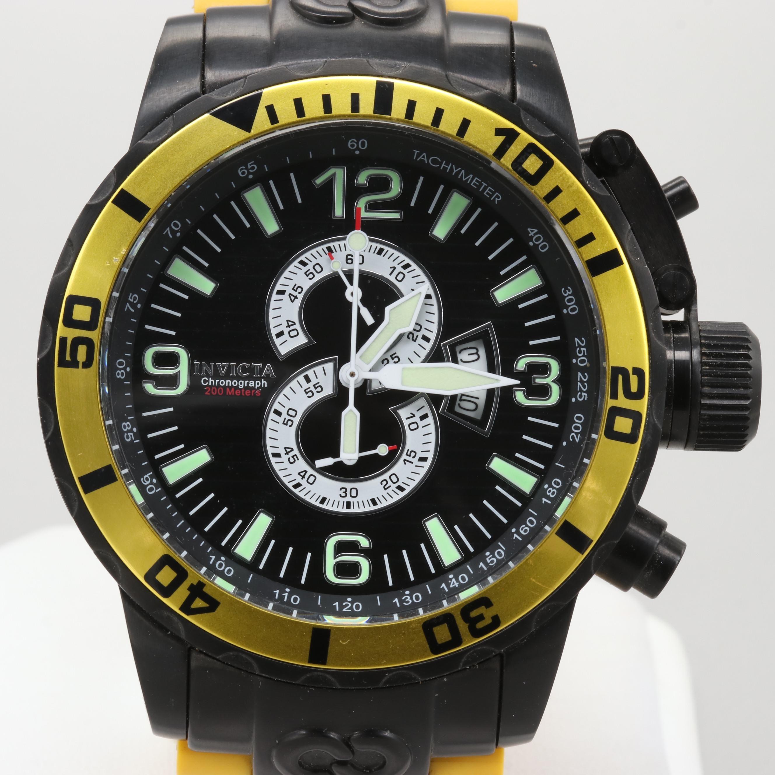 Invicta Corduba Stainless Steel Quartz Chronograph Wristwatch